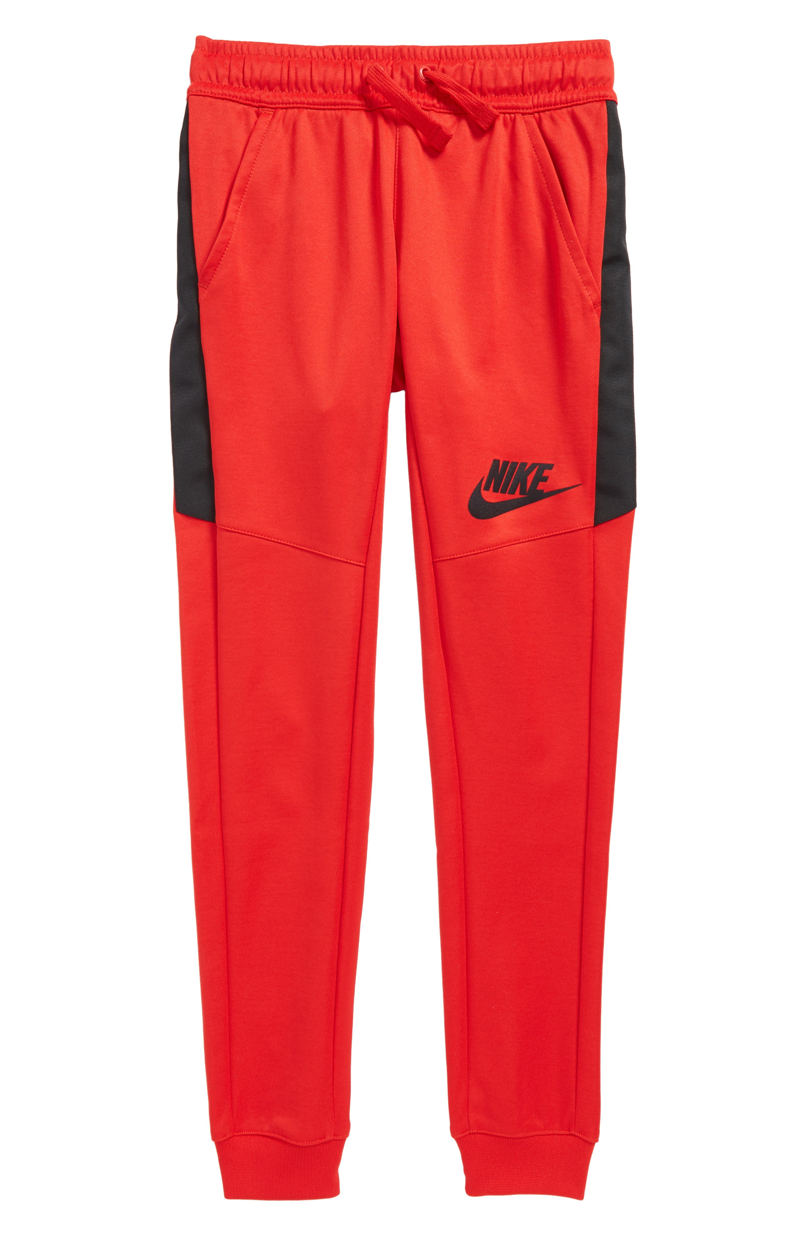 Sportswear Tribute Track Pants,                         Main,                         color, University Red/ Black