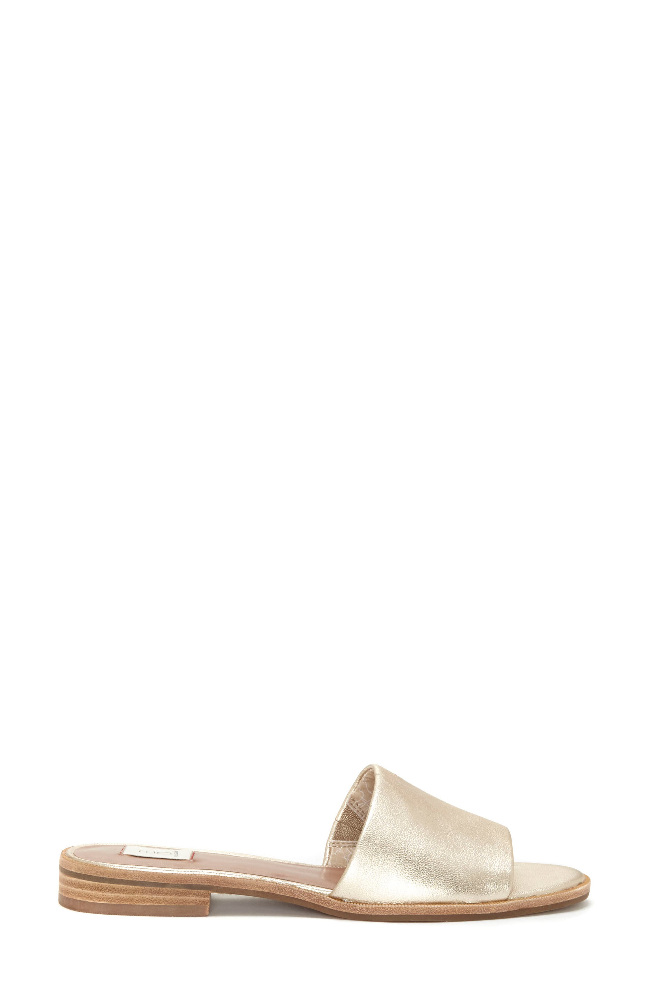 Solay Sandal,                             Alternate thumbnail 3, color,                             Prosecco Leather