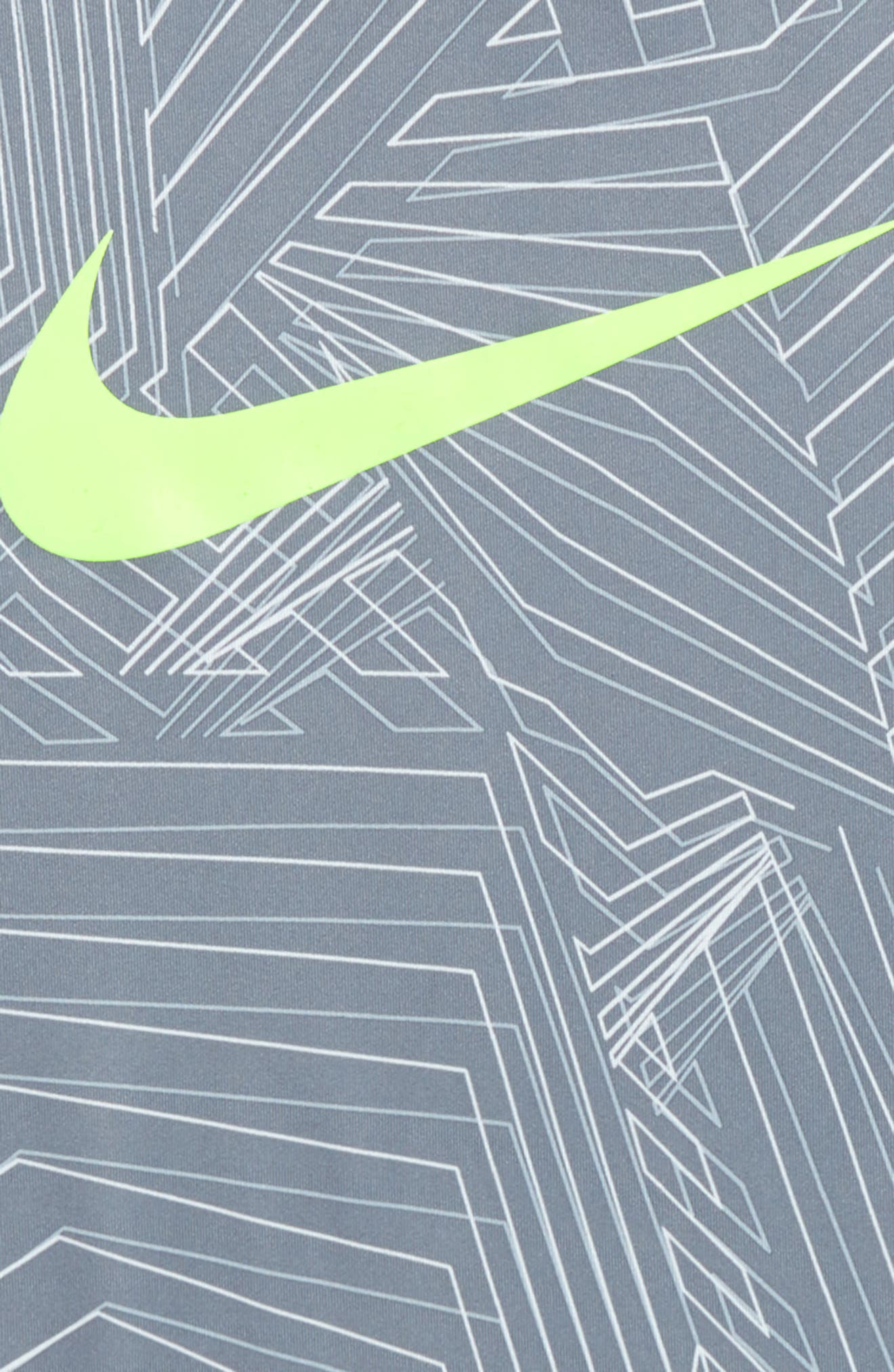 Alternate Image 2  - Nike Pro Fitted Training Shirt (Little Boys & Big Boys)