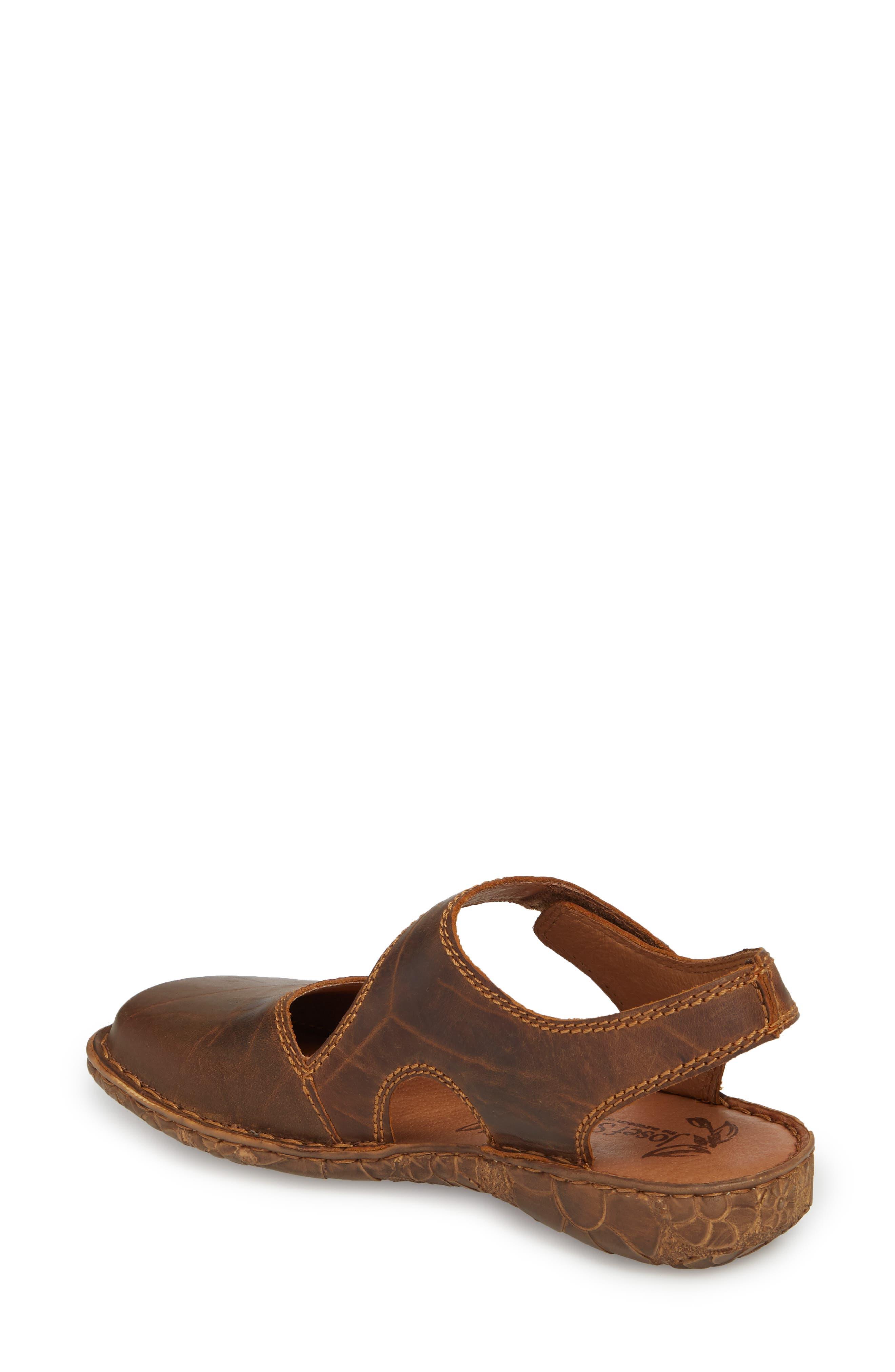 Rosalie 27 Sandal,                             Alternate thumbnail 2, color,                             Brandy Leather