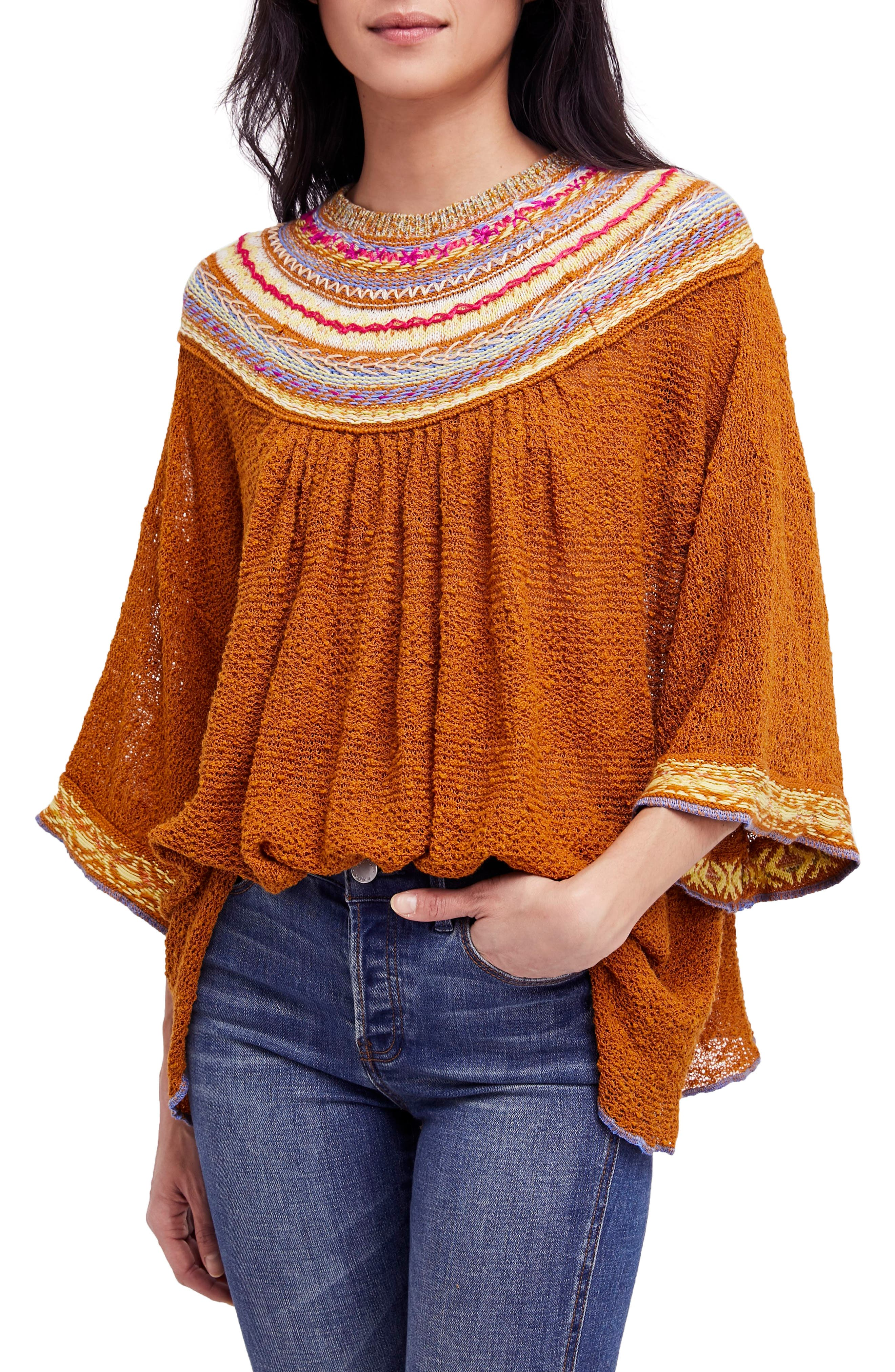 Vacation Sweater,                         Main,                         color, Gold