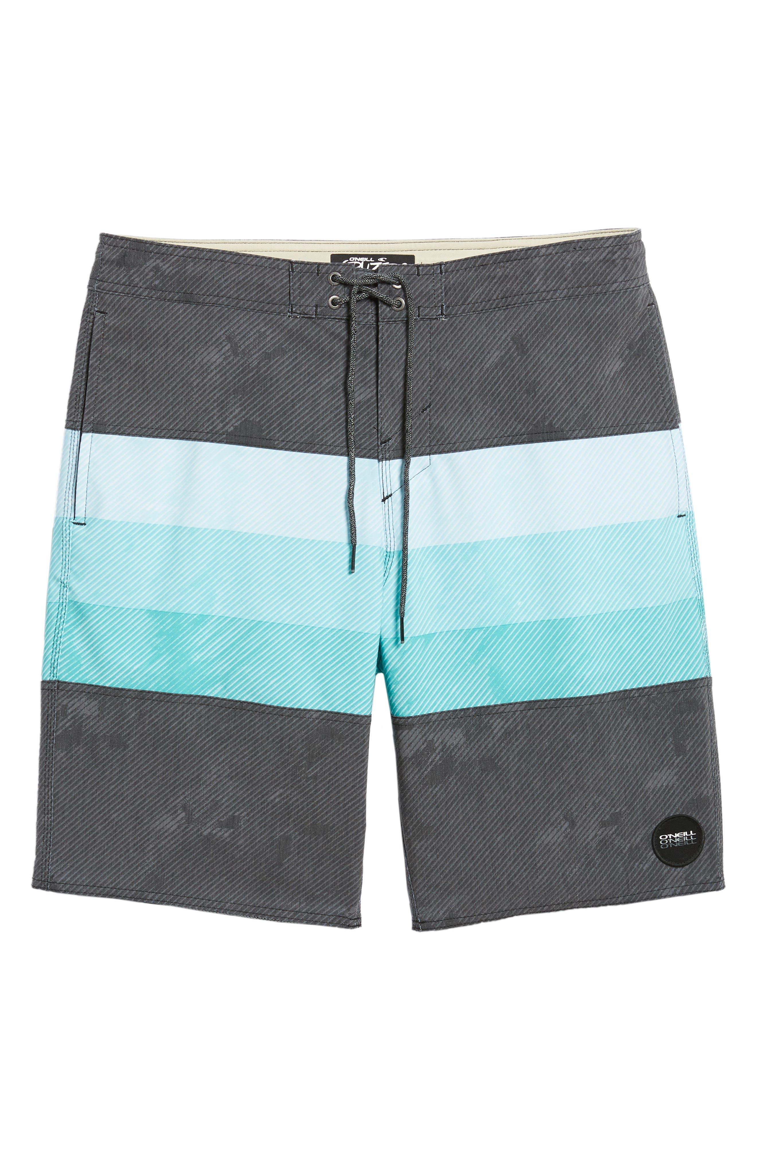 Region Cruzer Board Shorts,                             Alternate thumbnail 6, color,                             Black