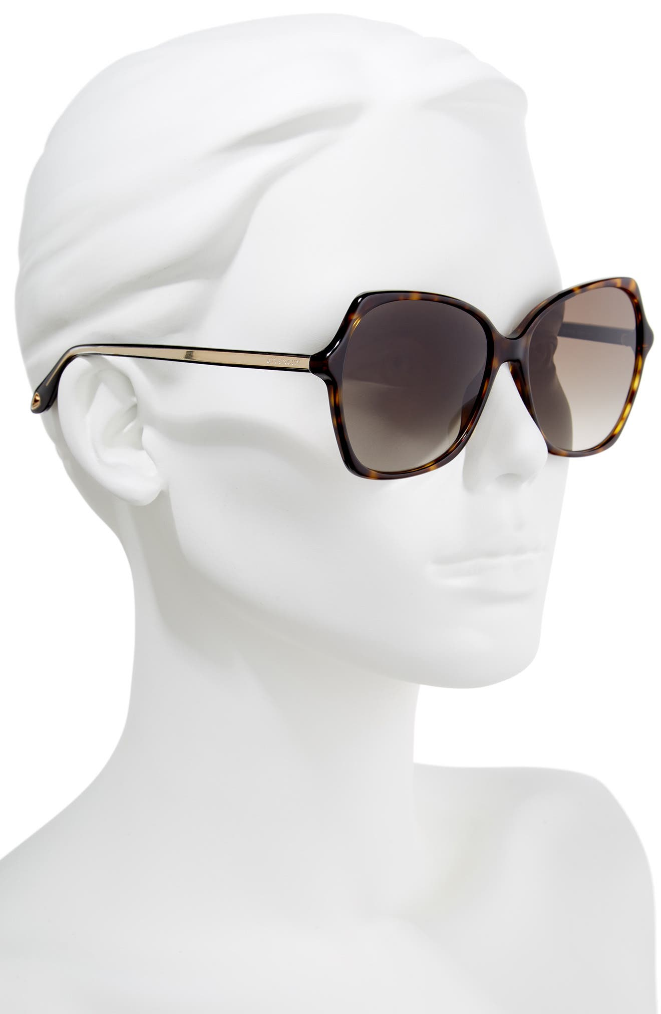 Alternate Image 2  - Givenchy 59mm Butterfly Sunglasses
