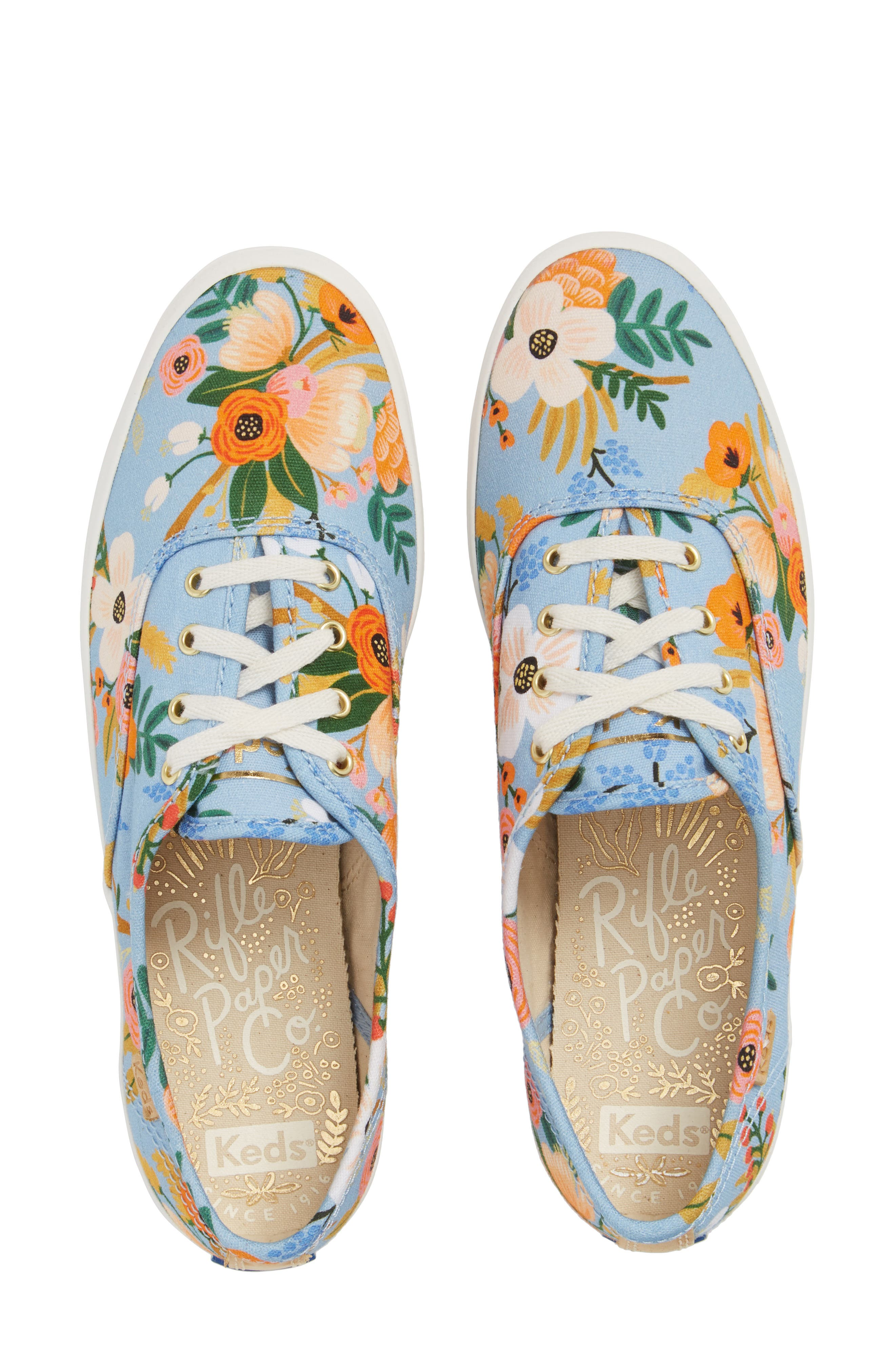 Keds® x Rifle Paper Co. Champion Floral Print Sneaker (Women)
