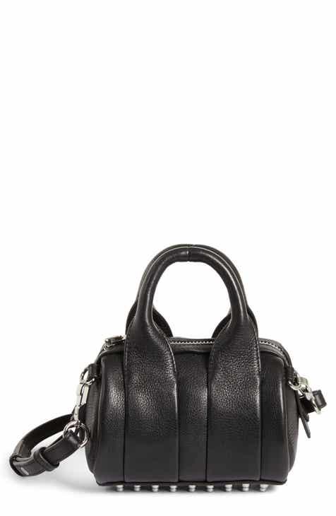 b603be47ed55 Alexander Wang Baby Rockie Leather Satchel