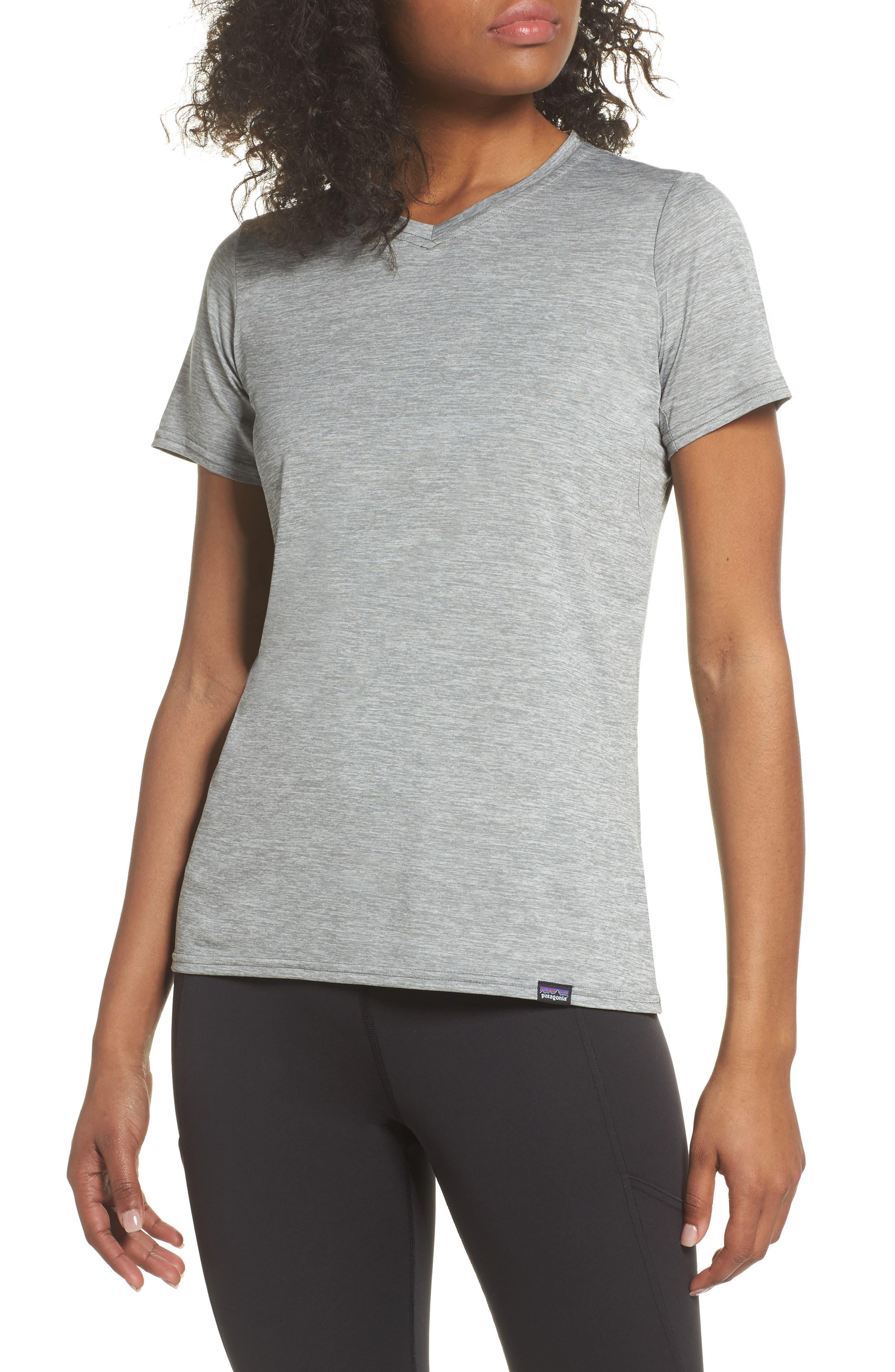 Capilene<sup>®</sup> Dailty T-Shirt,                             Main thumbnail 1, color,                             Feather Grey
