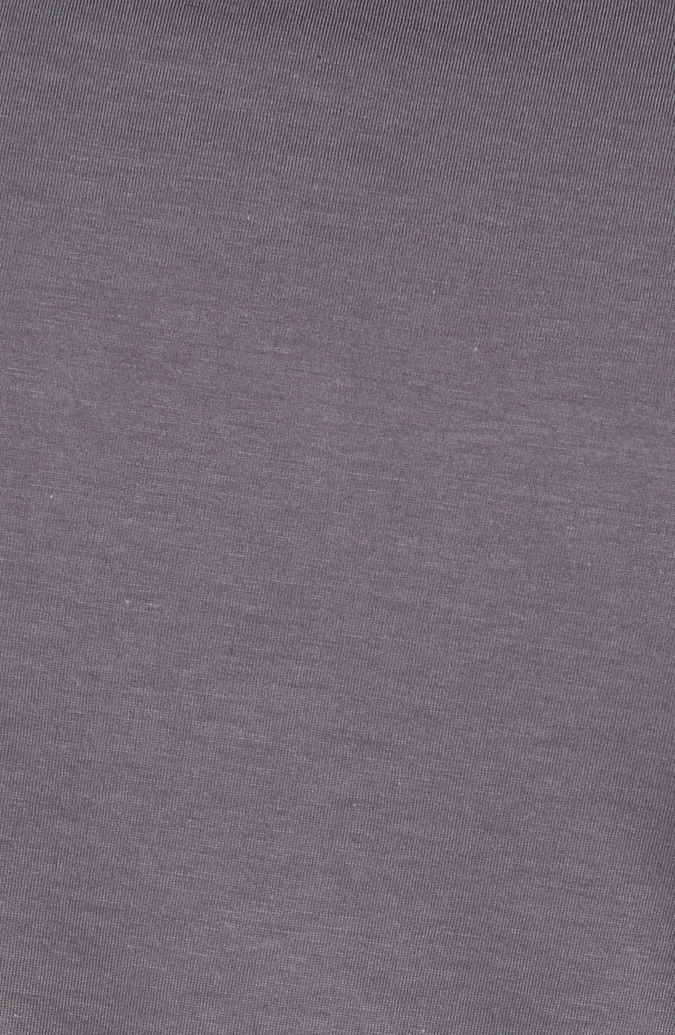 Refined Jersey Polo,                             Alternate thumbnail 5, color,                             Thundercloud