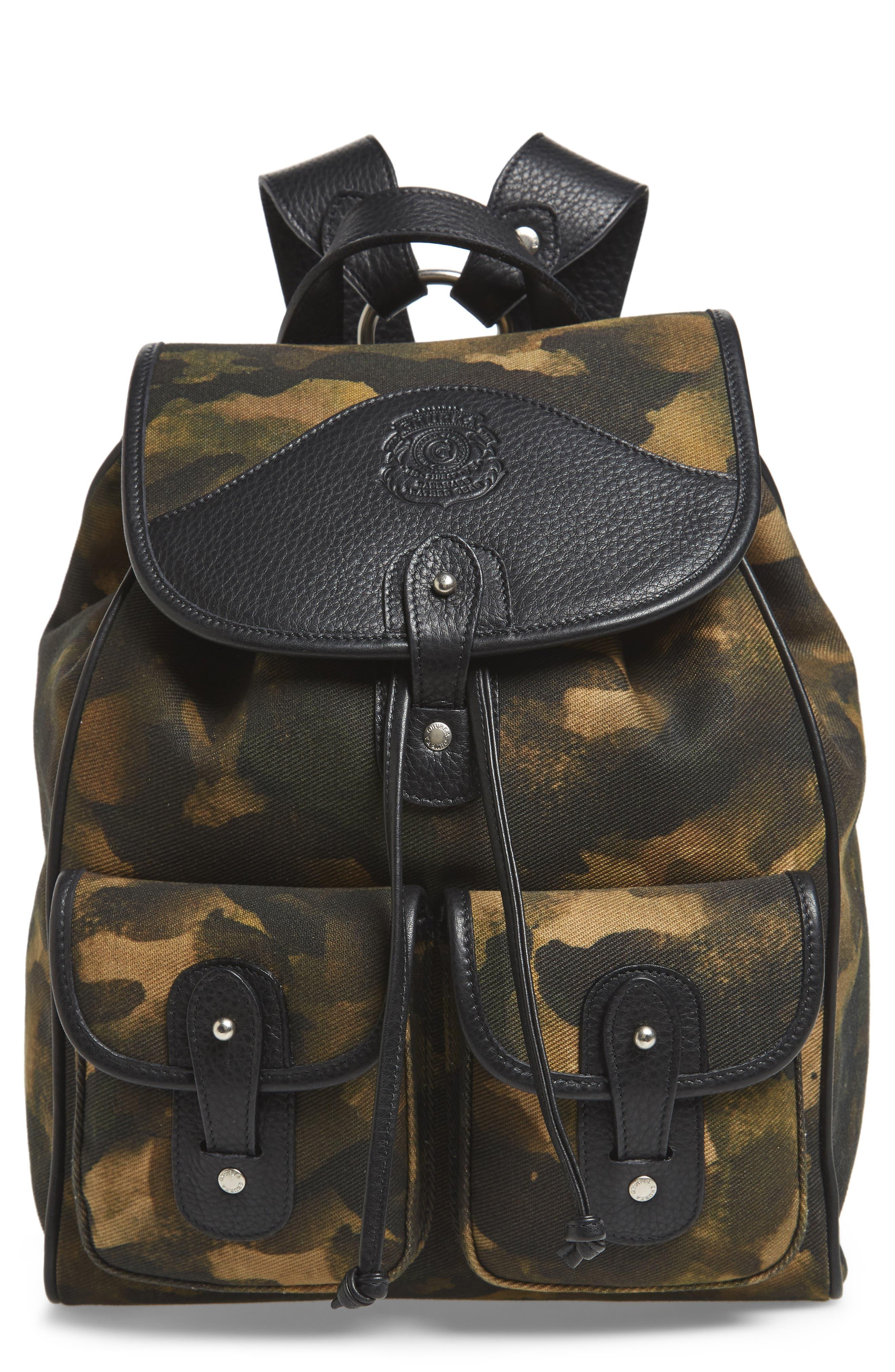Blazer Canvas Backpack,                             Main thumbnail 1, color,                             Camo Solid