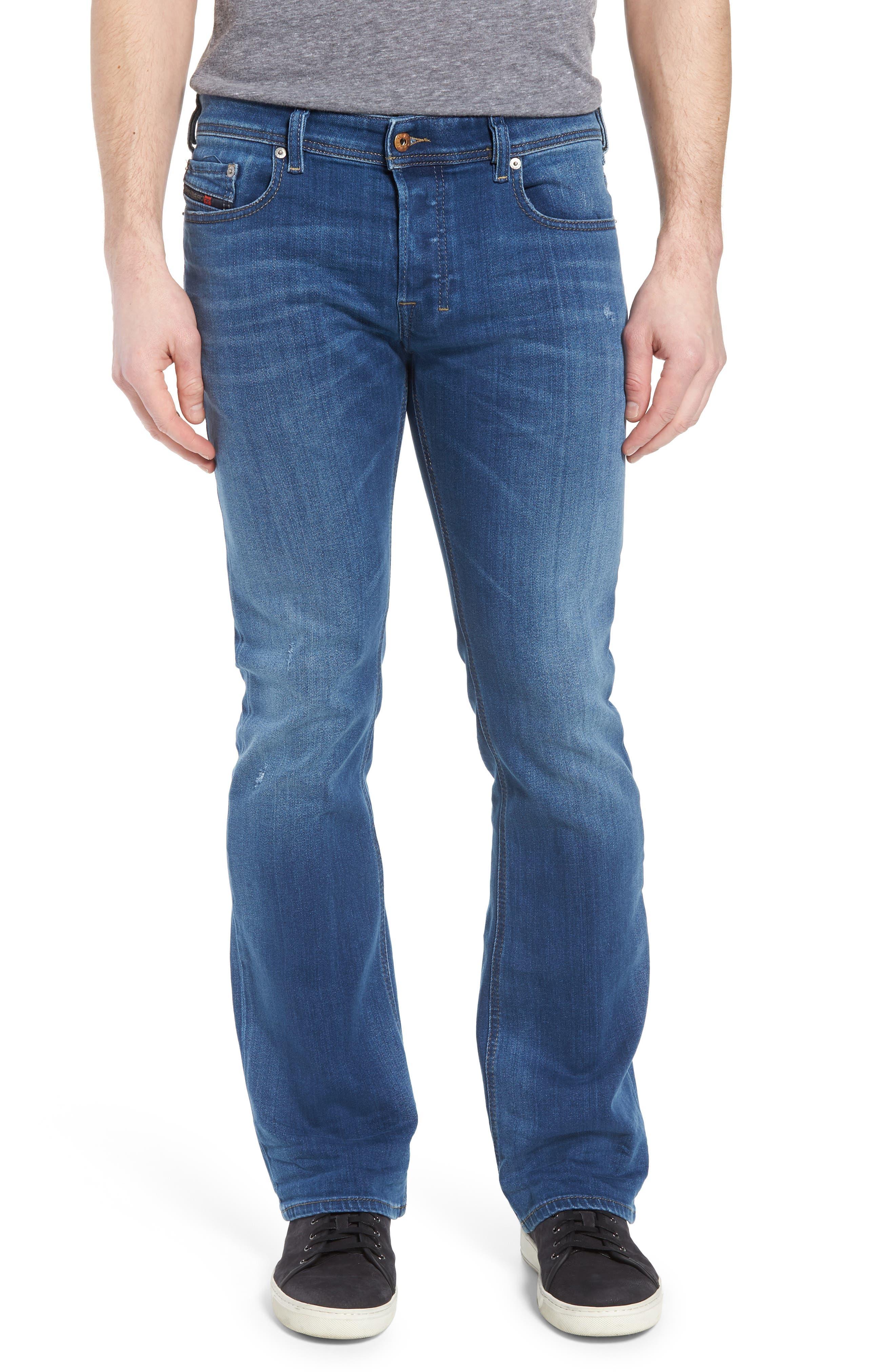 Zatiny Bootcut Jeans,                             Main thumbnail 1, color,                             Denim