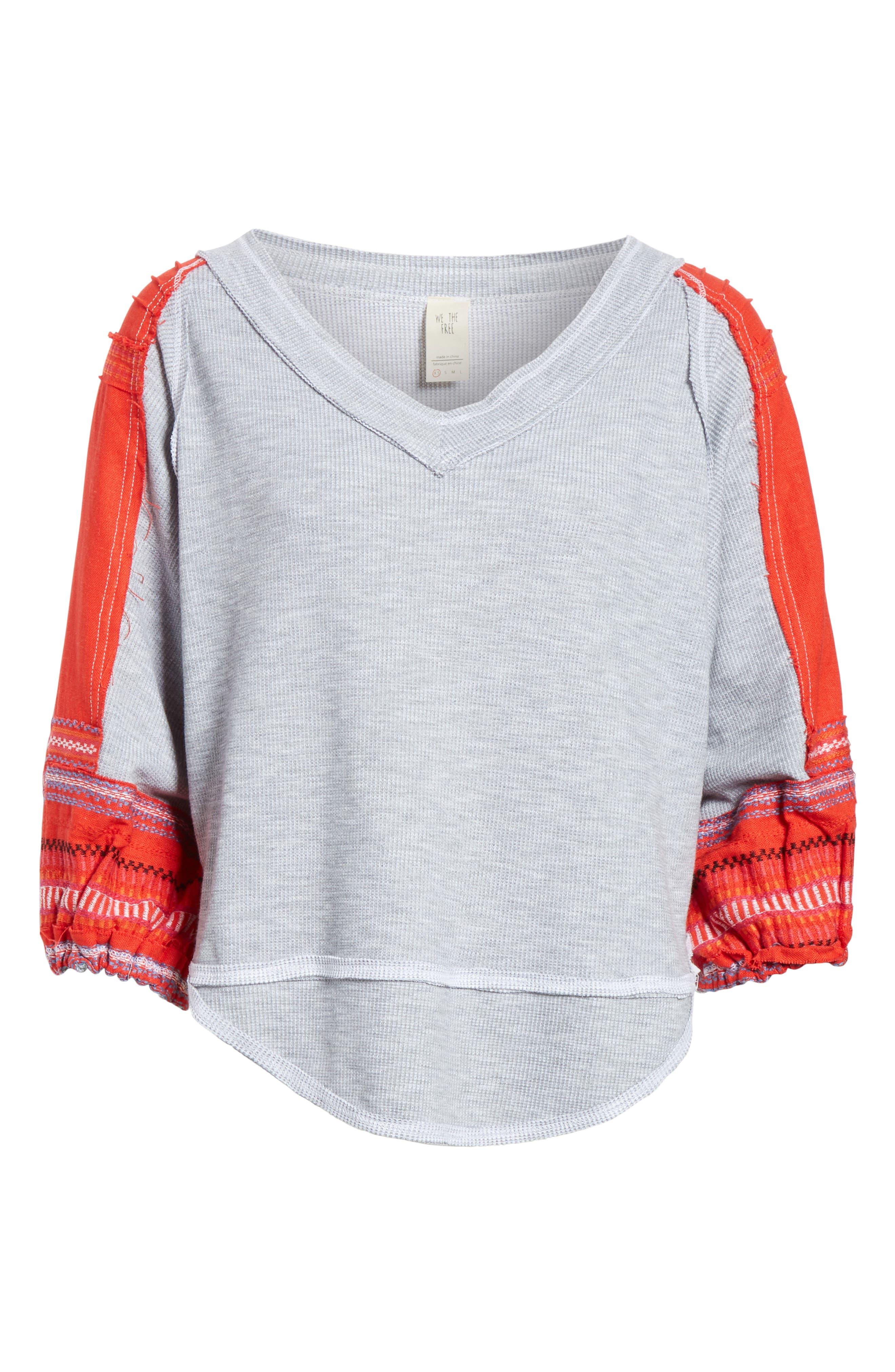 Bubble Shirt,                             Alternate thumbnail 6, color,                             Grey