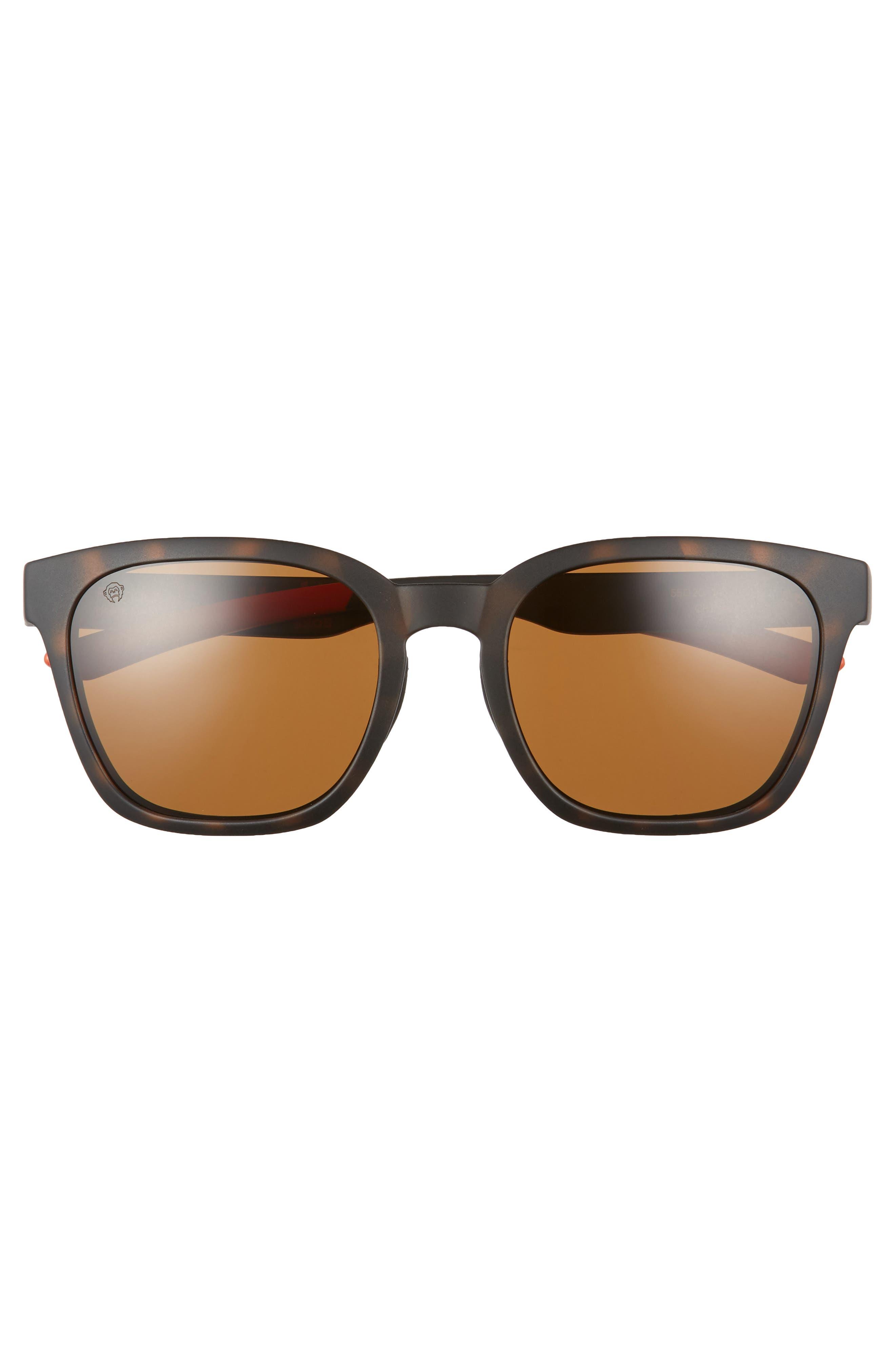 Founder 56mm ChromaPop Polarized Sunglasses,                             Alternate thumbnail 3, color,                             Howler Matte Tortoise