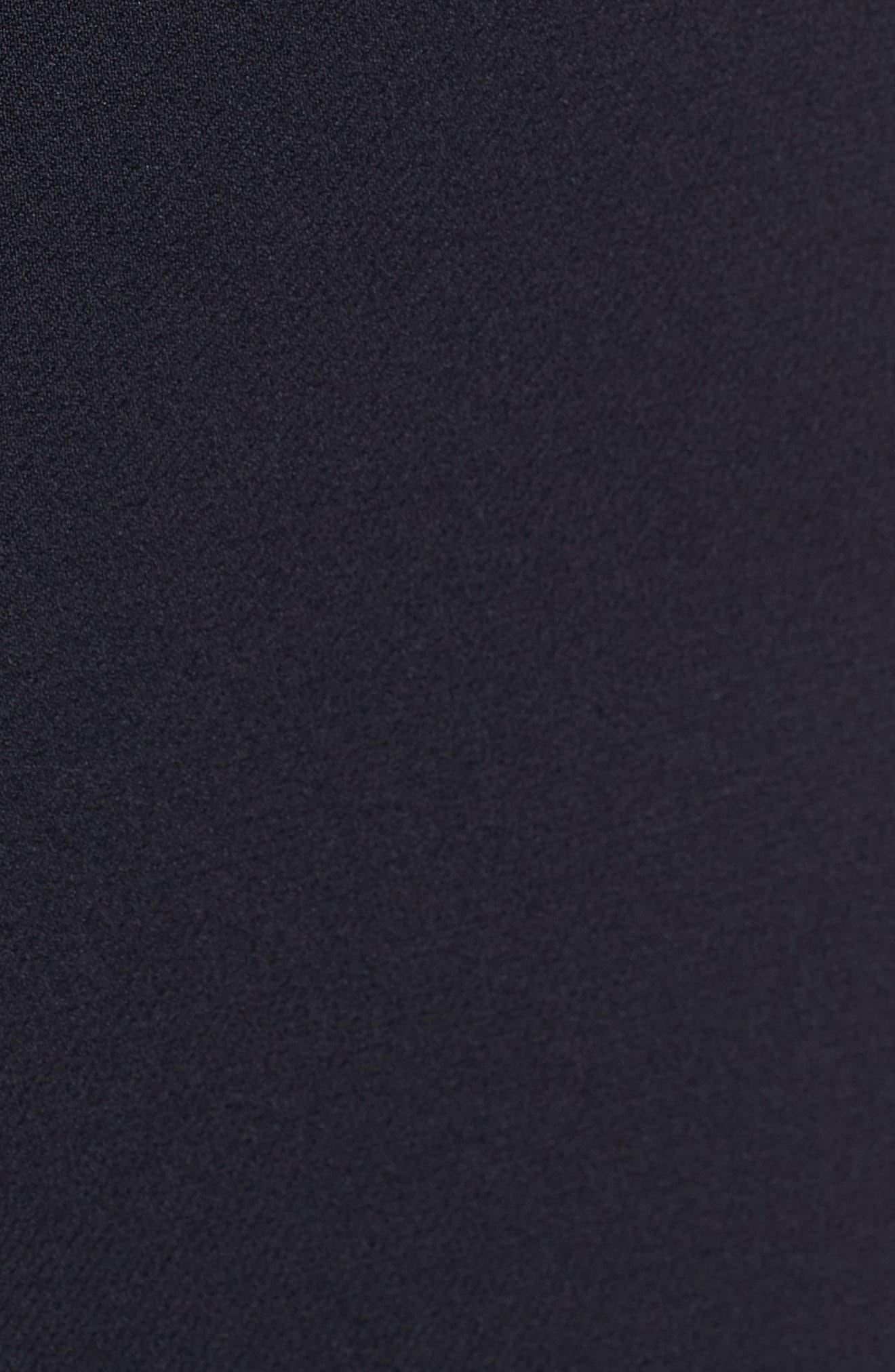 Duleama Belted Sheath Dress,                             Alternate thumbnail 5, color,                             Navy