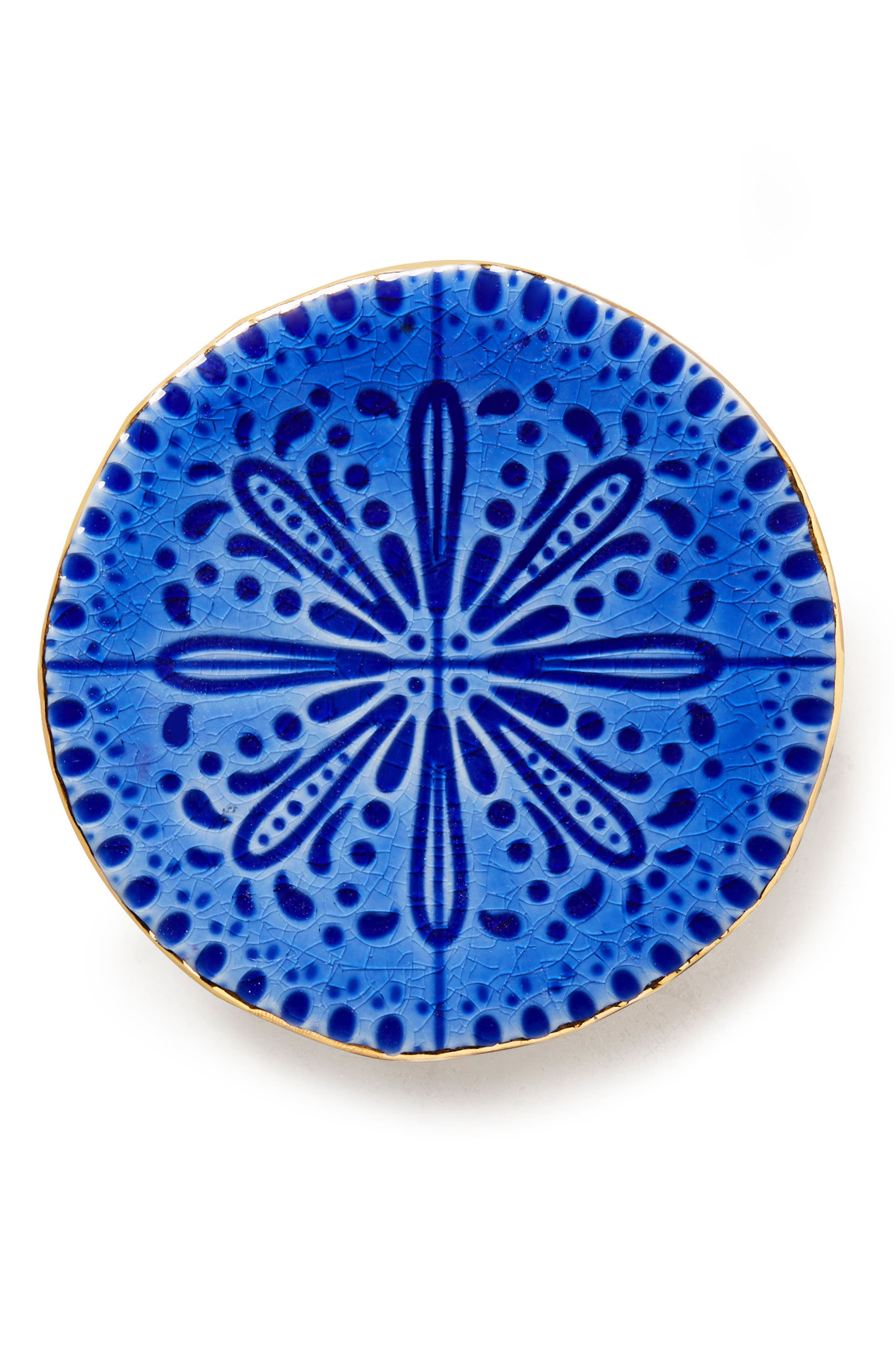 Alternate Image 2  - Anthropologie Pasatiempo Stoneware Coaster