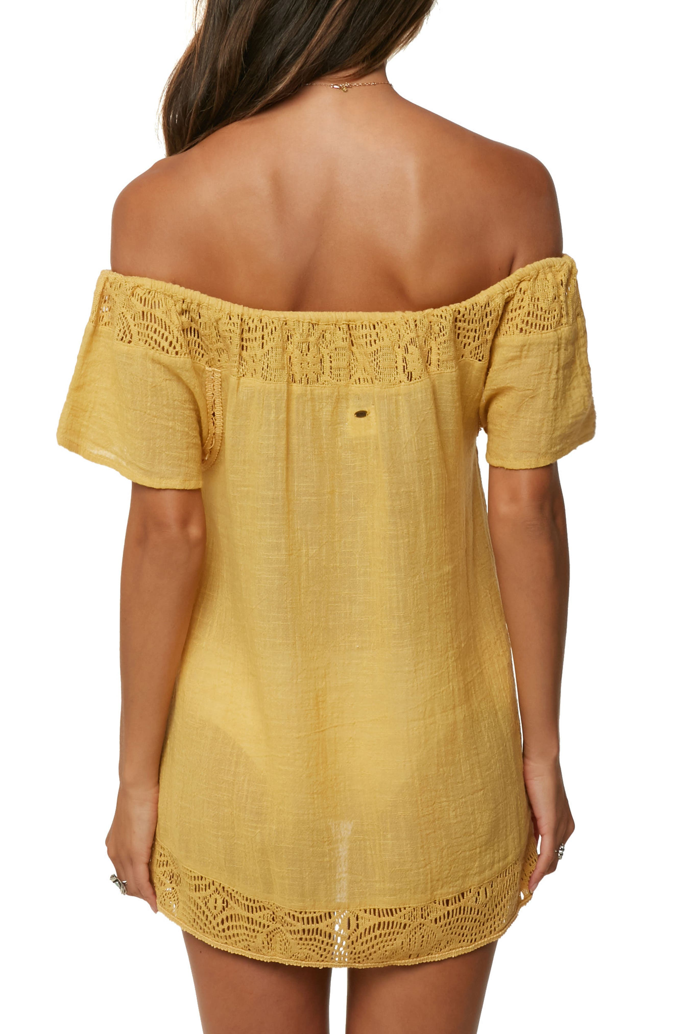 Indiana Cover-Up Tunic,                             Alternate thumbnail 2, color,                             Daisy