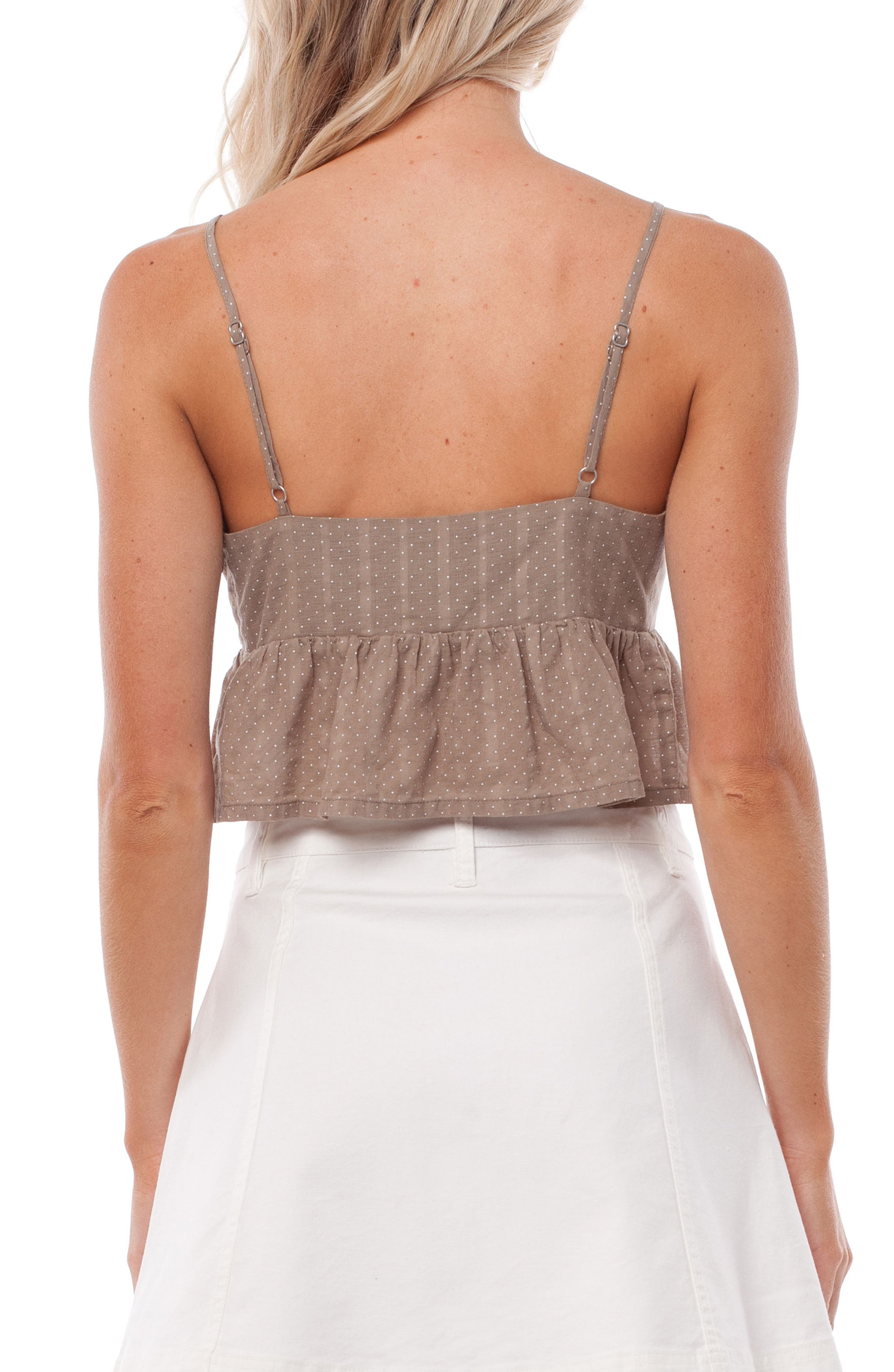Messina Cover-Up Top,                             Alternate thumbnail 2, color,                             Chai
