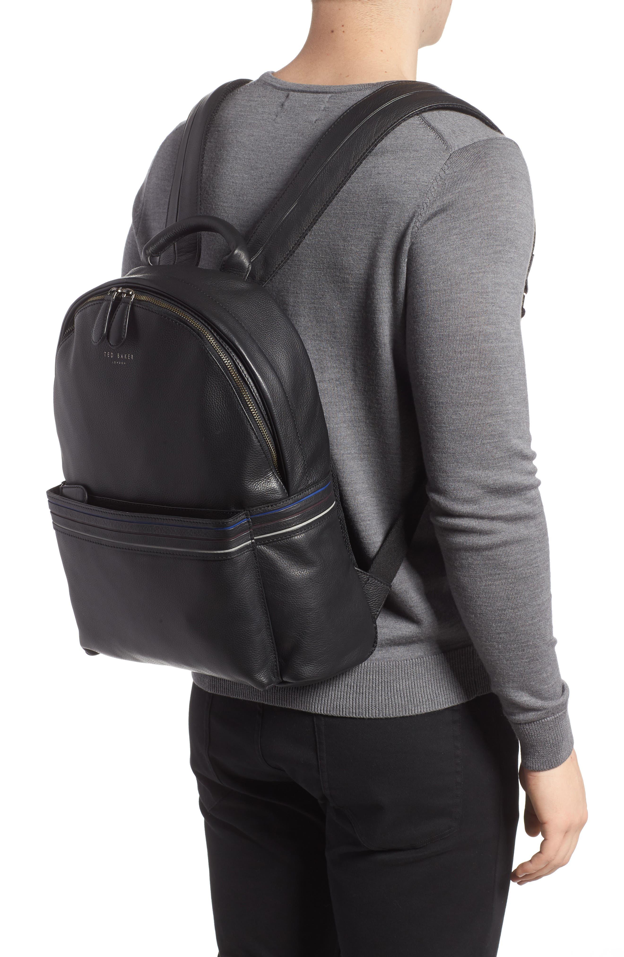 Huntman Stripe Backpack,                             Alternate thumbnail 2, color,                             Black