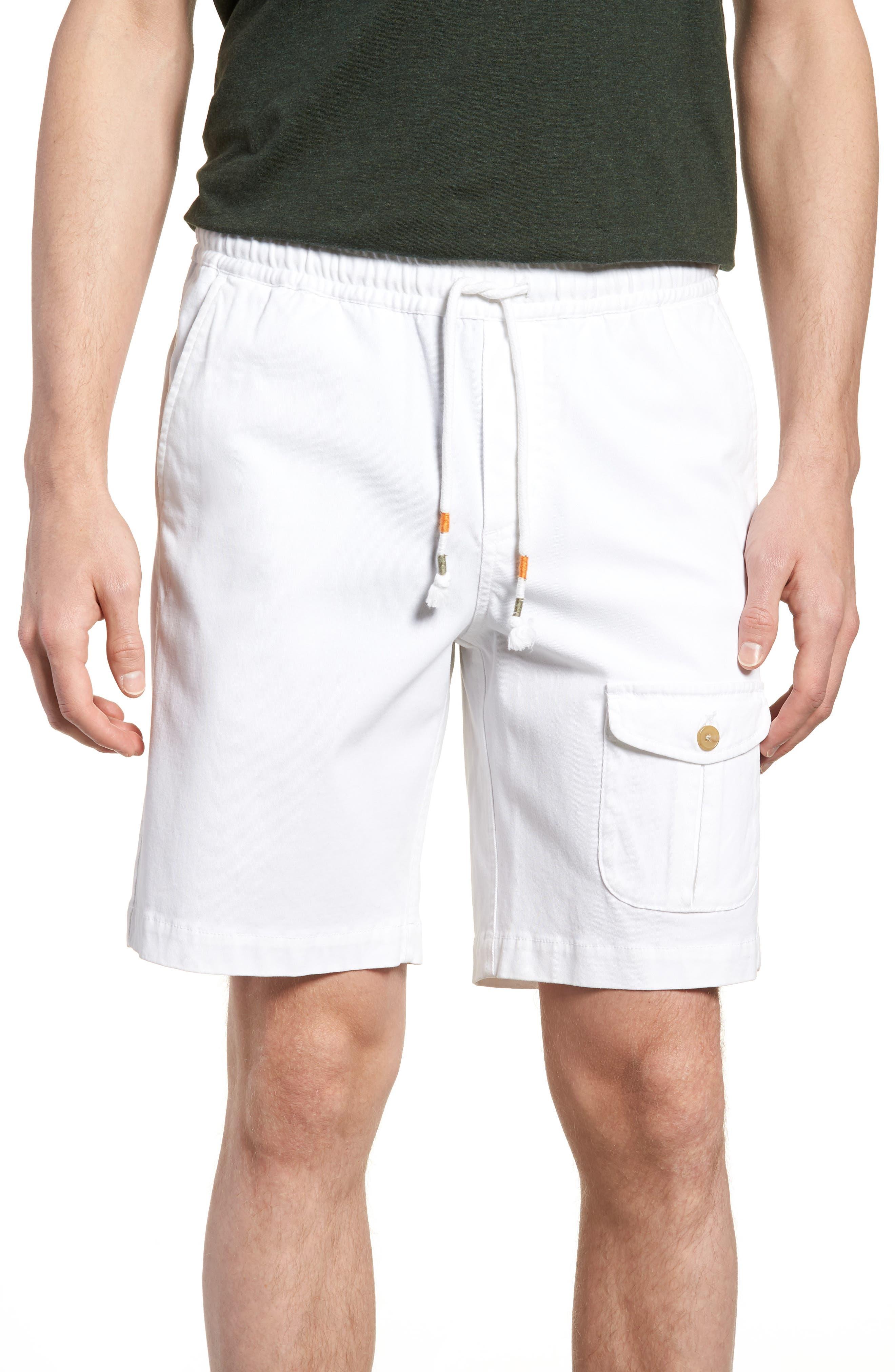 Michael Bastian Garment Dyed Pocket Shorts