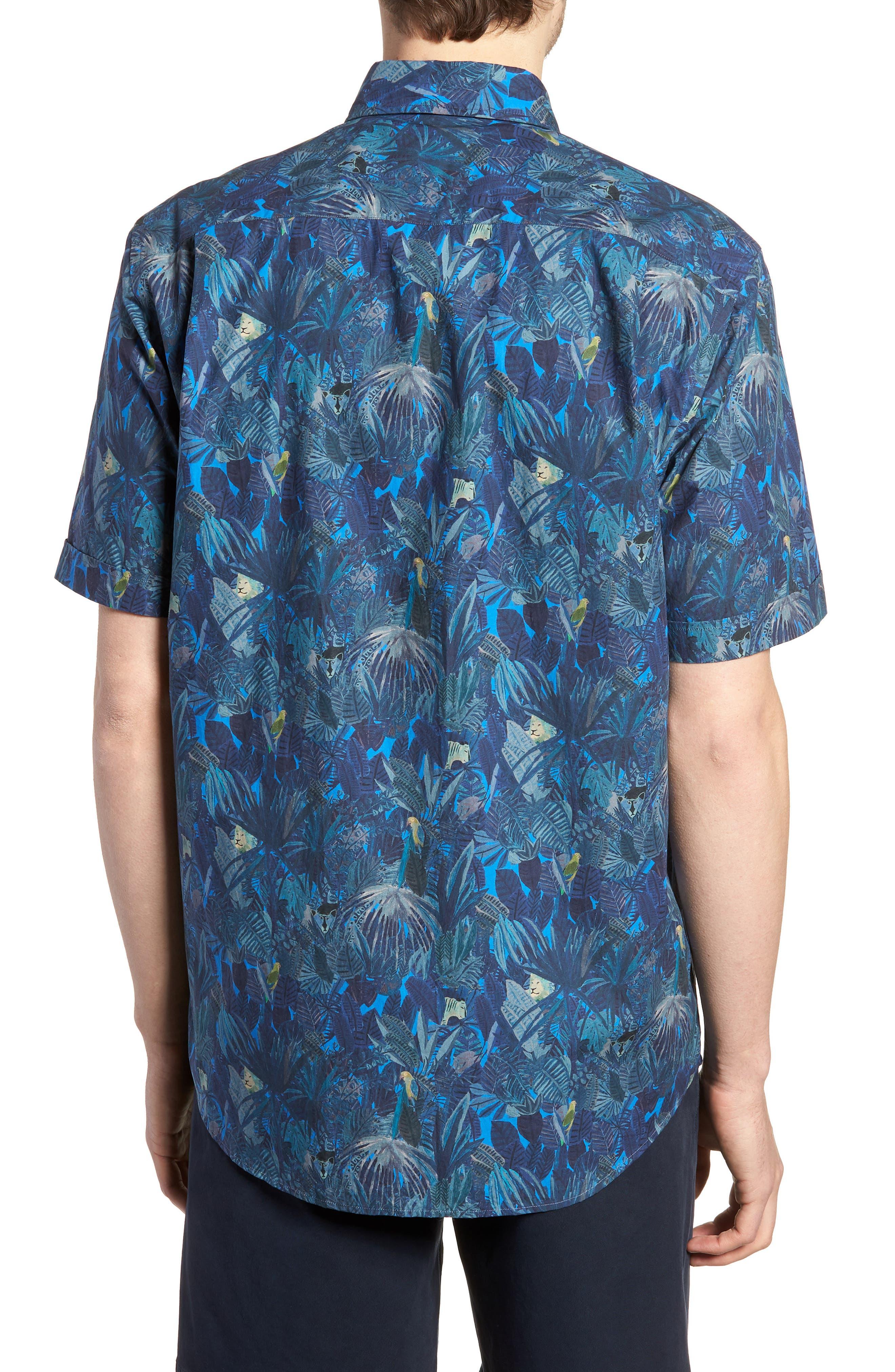 Alternate Image 3  - Rodd & Gunn Chedworth Slim Fit Print Sport Shirt