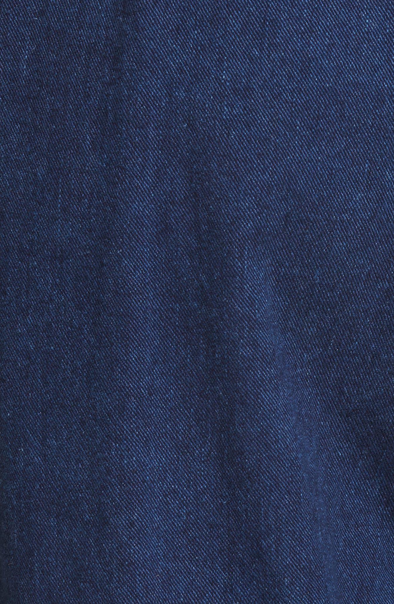 Wily Peg Denim Pants,                             Alternate thumbnail 5, color,                             Dark Indigo