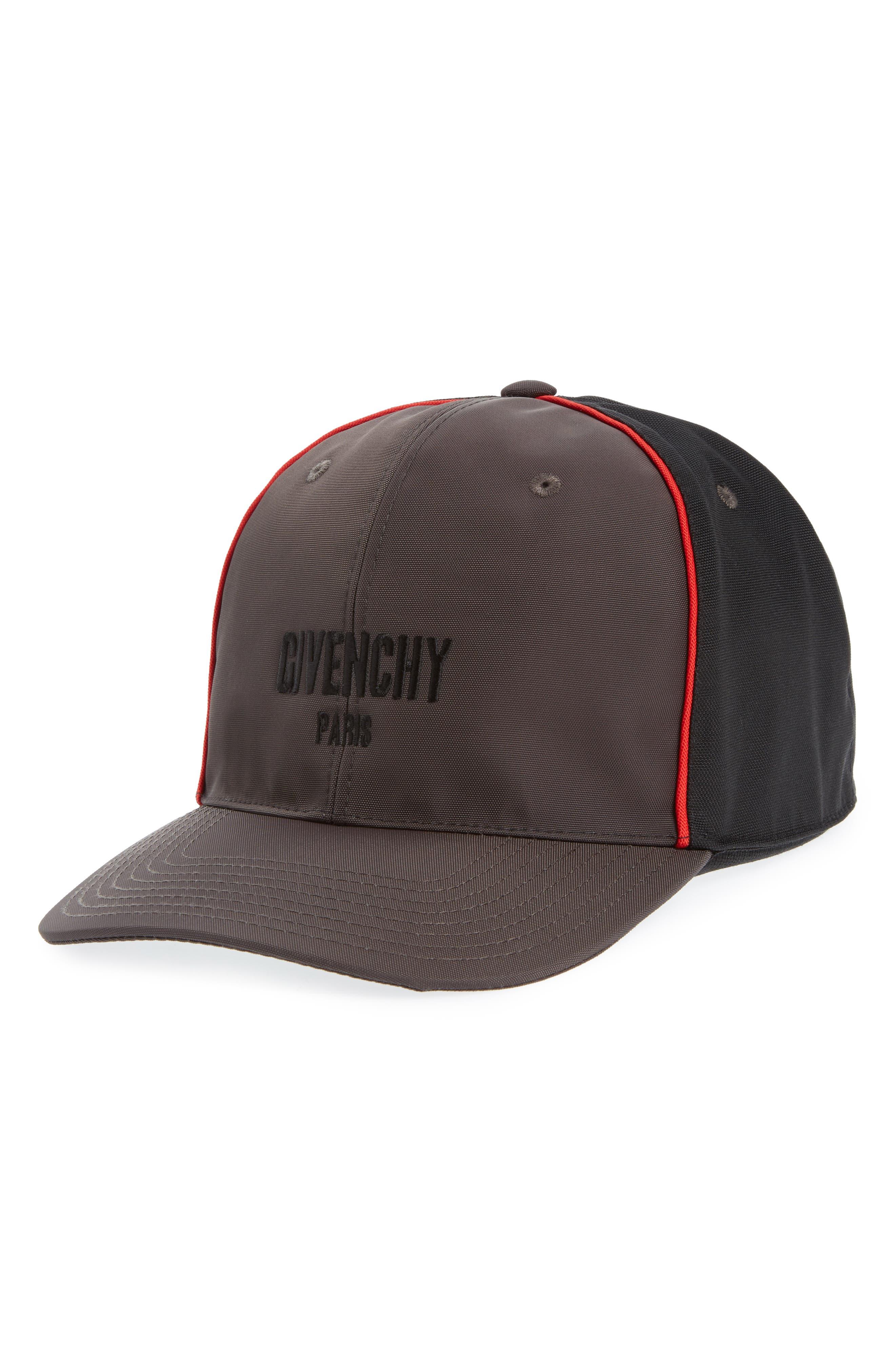 Two-Tone Ball Cap,                         Main,                         color, Black/ Grey