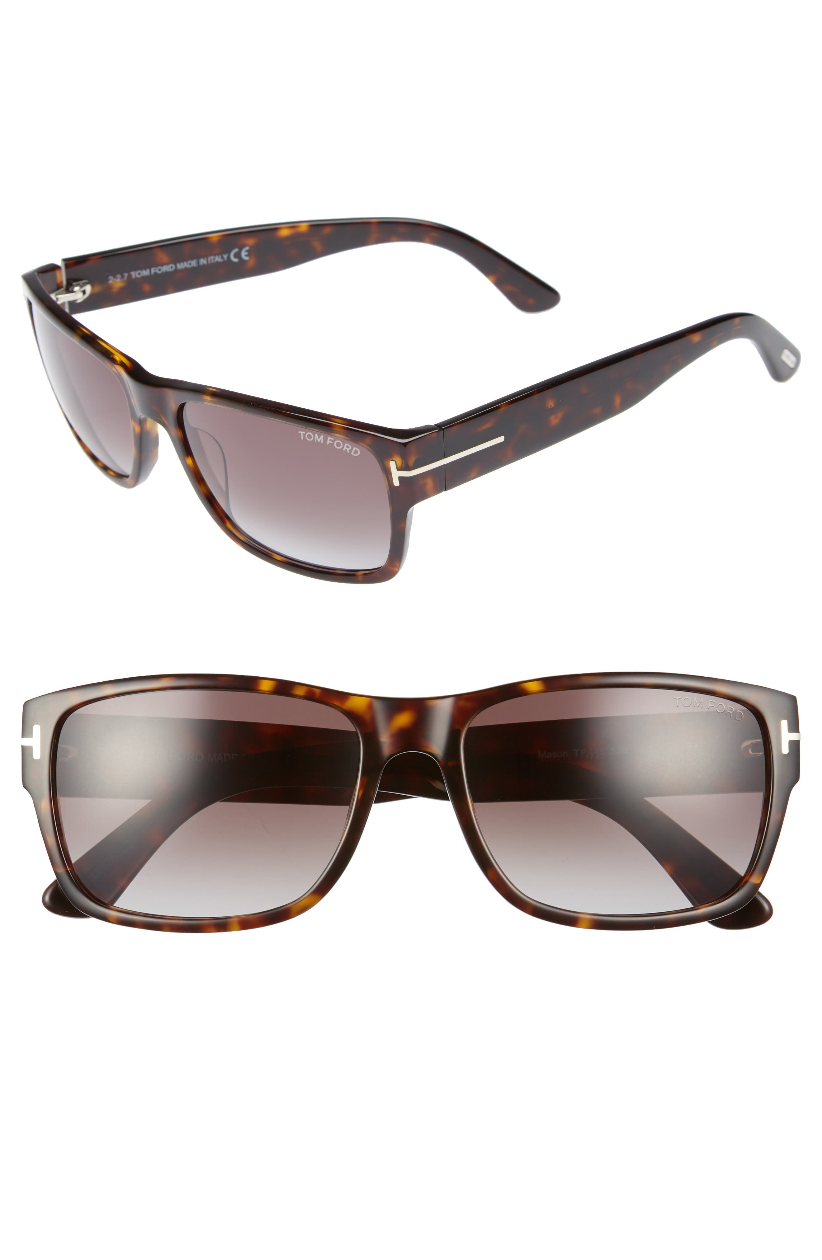 Alternate Image 1 Selected - Tom Ford 'Mason' 58mm Sunglasses
