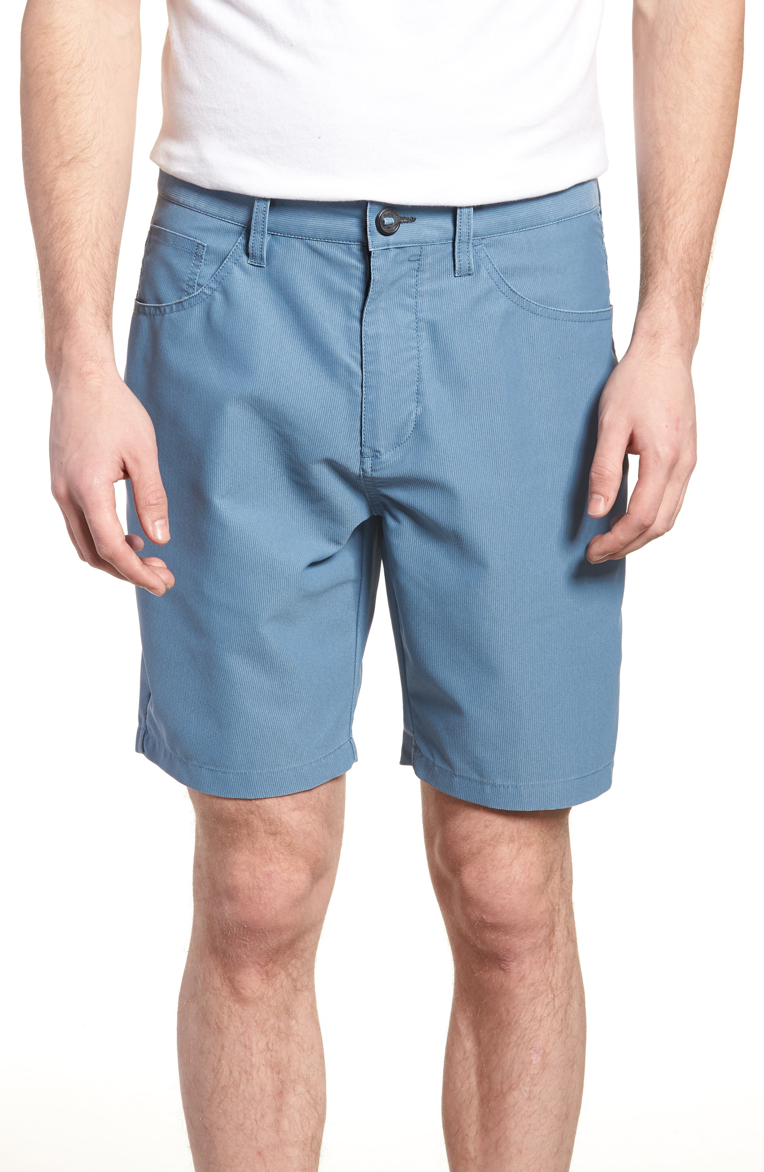Outsider X Surf Corduroy Shorts,                             Main thumbnail 1, color,                             Powder Blue