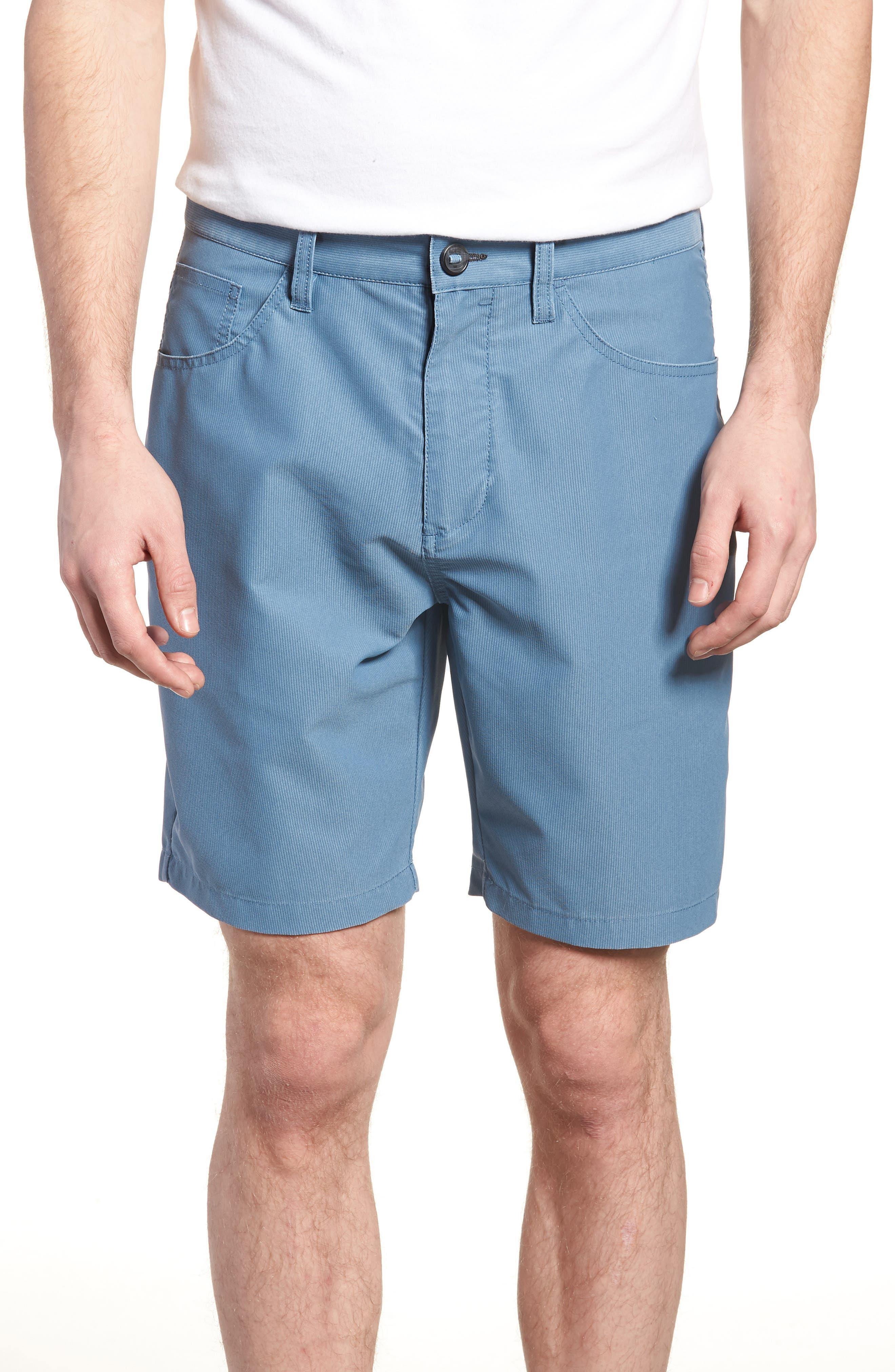 Outsider X Surf Corduroy Shorts,                         Main,                         color, Powder Blue
