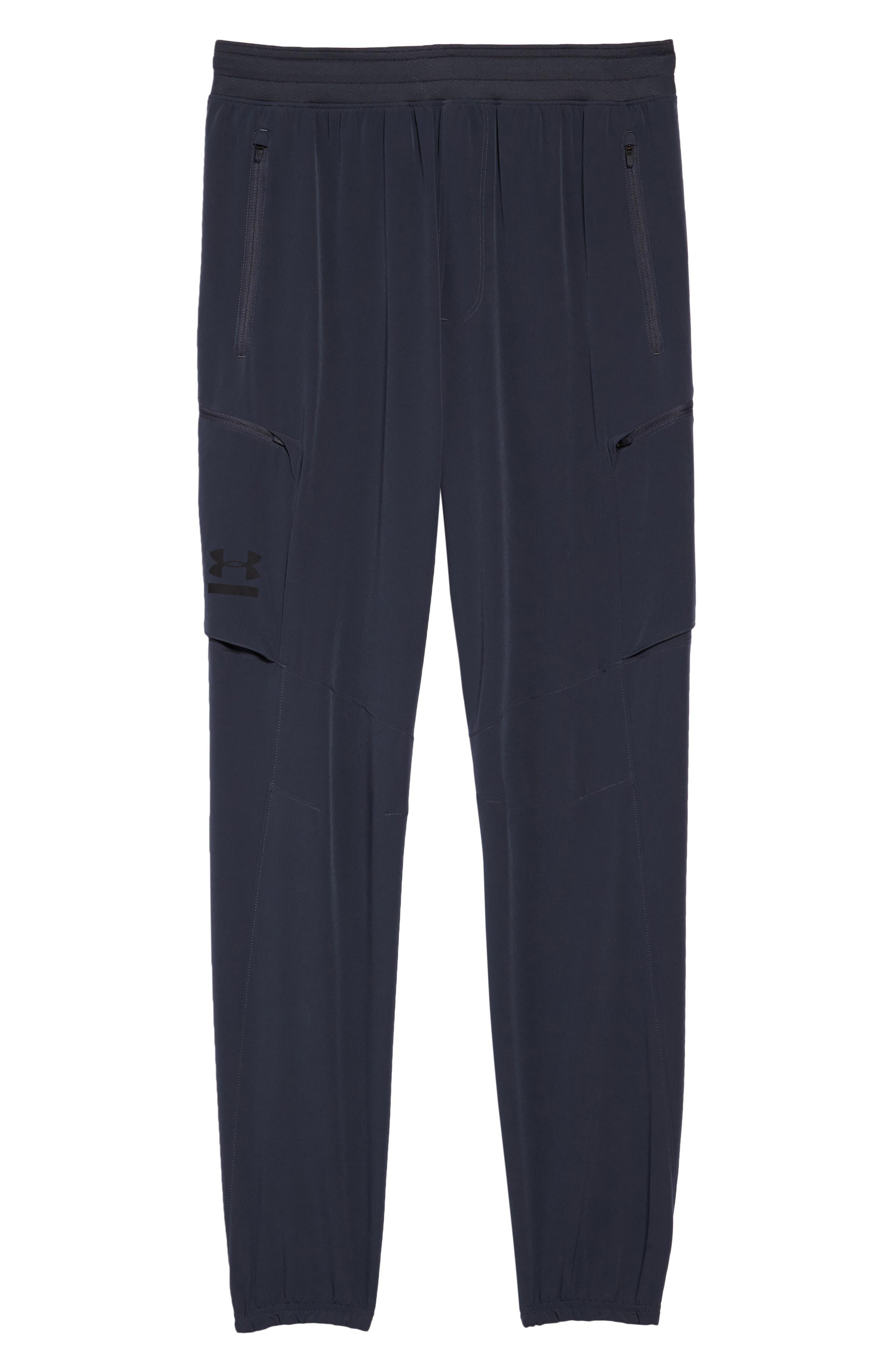 Perpetual Cargo Jogger Pants,                             Alternate thumbnail 6, color,                             Stealth Gray/ Black