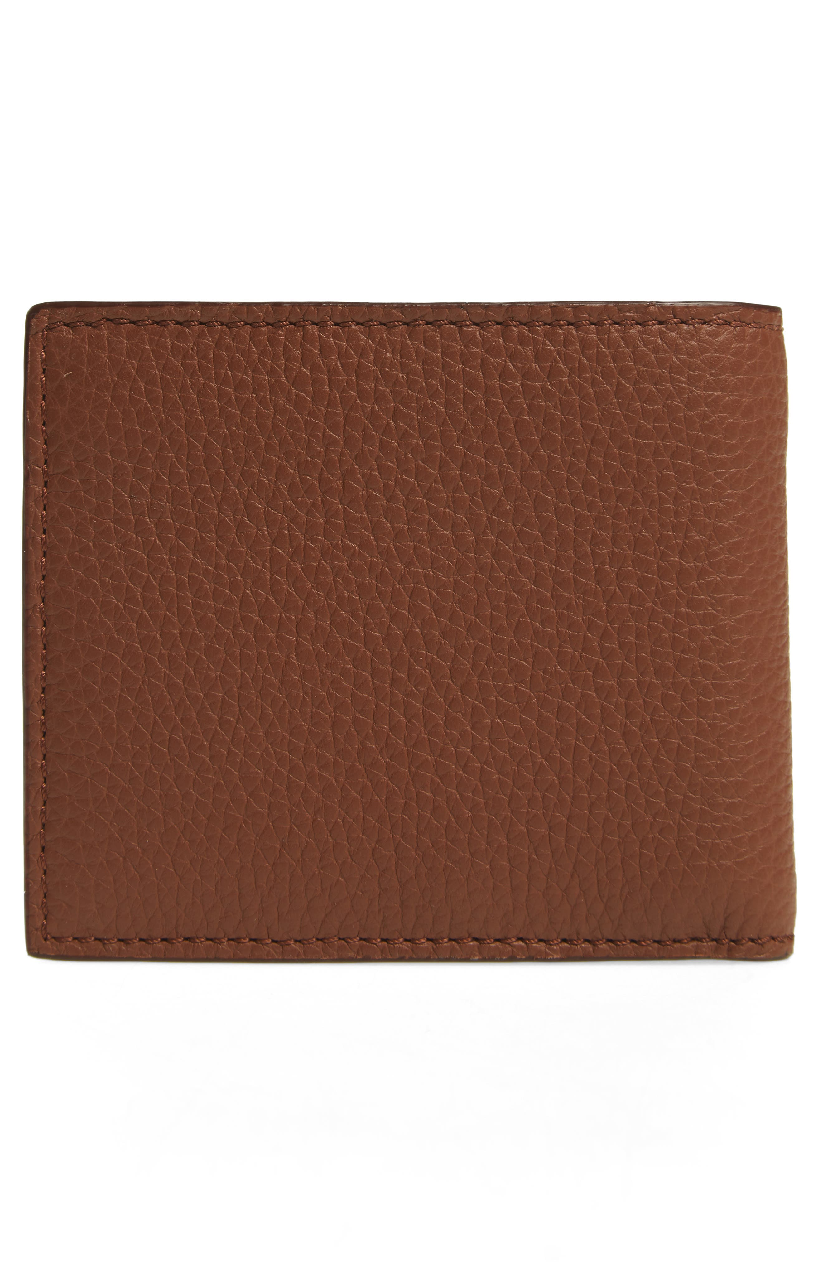 Billfold Wallet,                             Alternate thumbnail 3, color,                             Chestnut Brown
