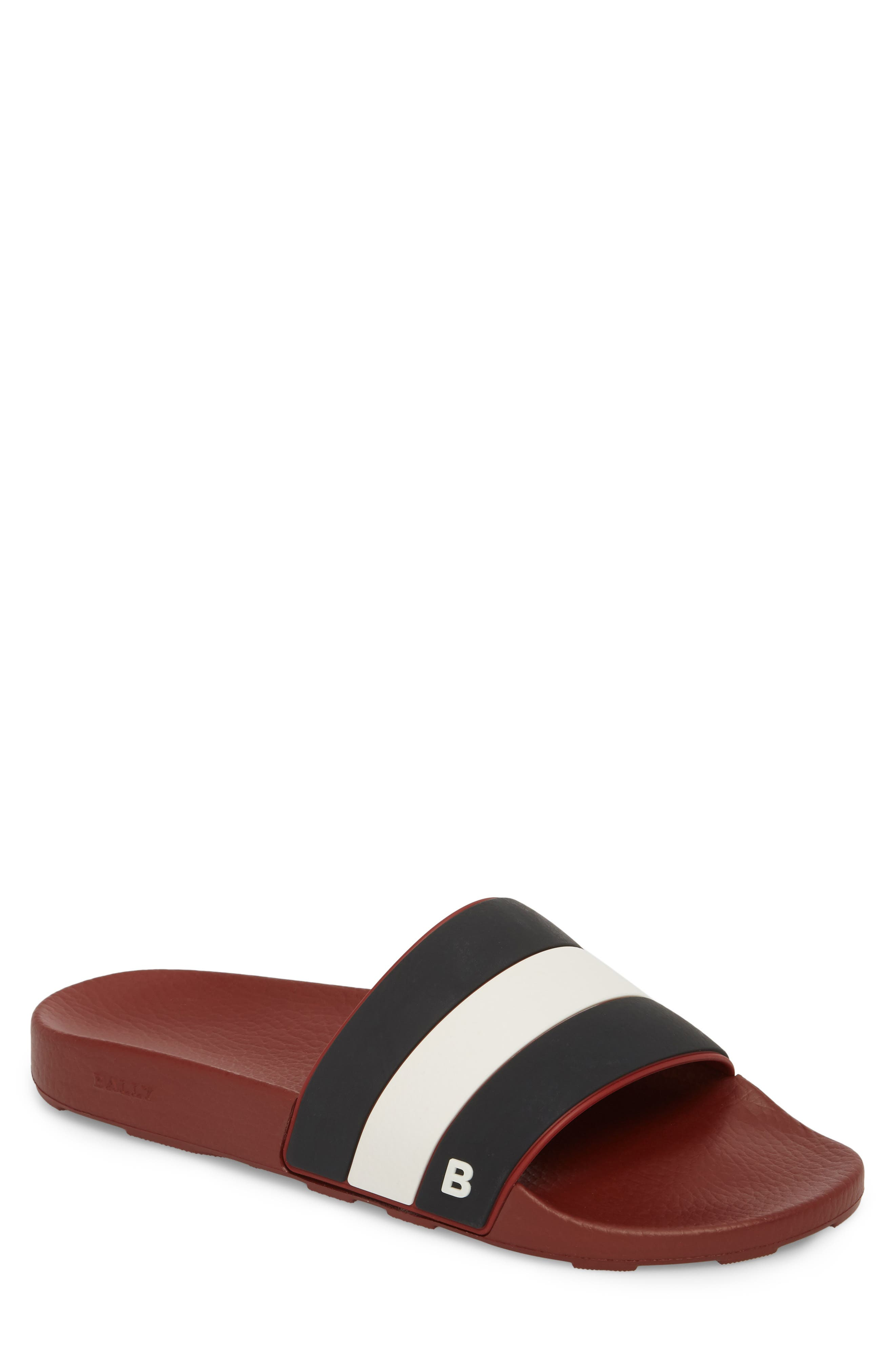 Sleter Sport Slide,                             Main thumbnail 1, color,                             Garnet