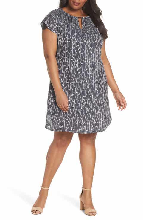 NIC+ZOE Market Shift Dress (Plus Size)