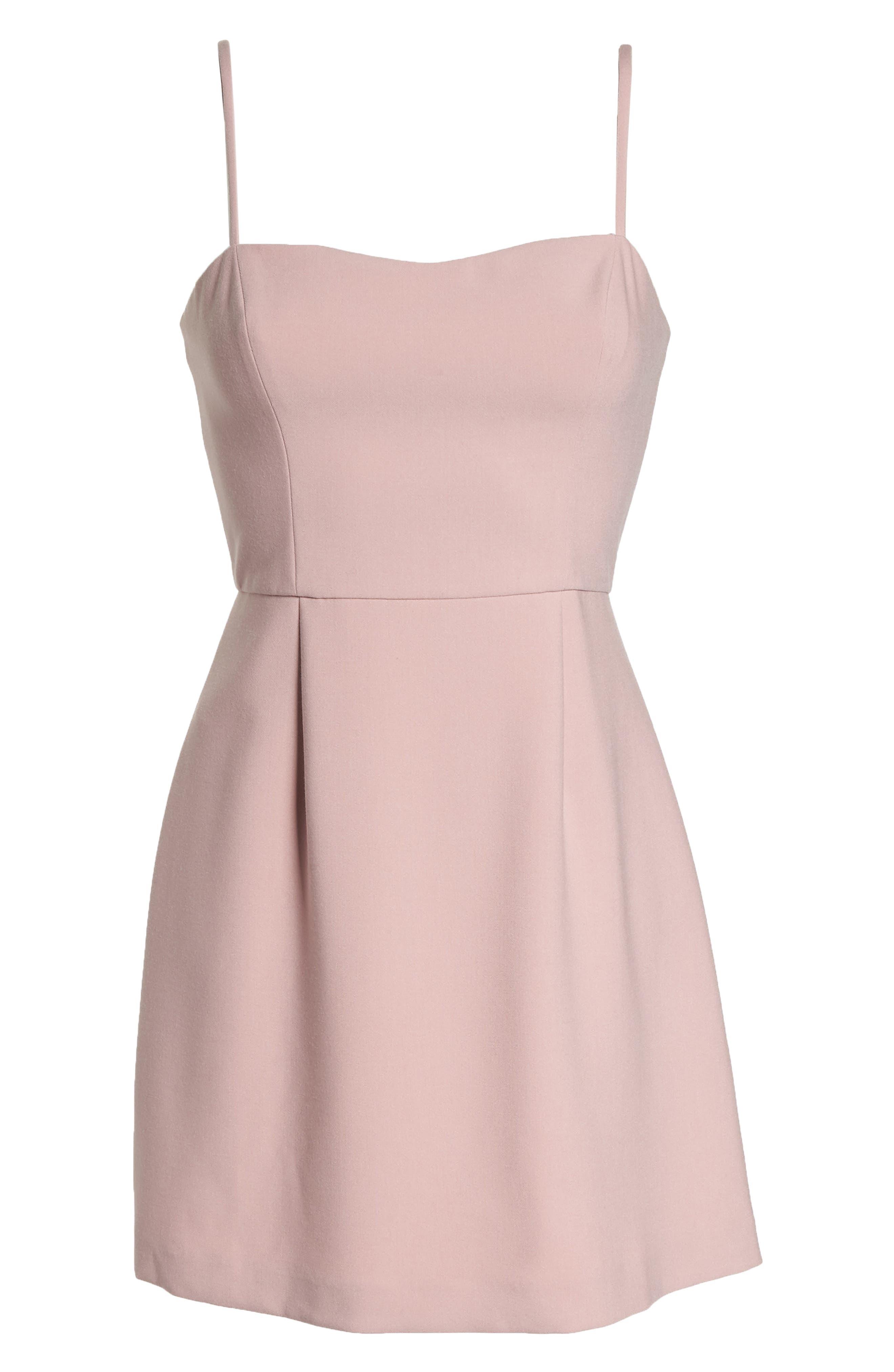 Whisper Light Sweetheart Minidress,                             Alternate thumbnail 7, color,                             Tea Gown