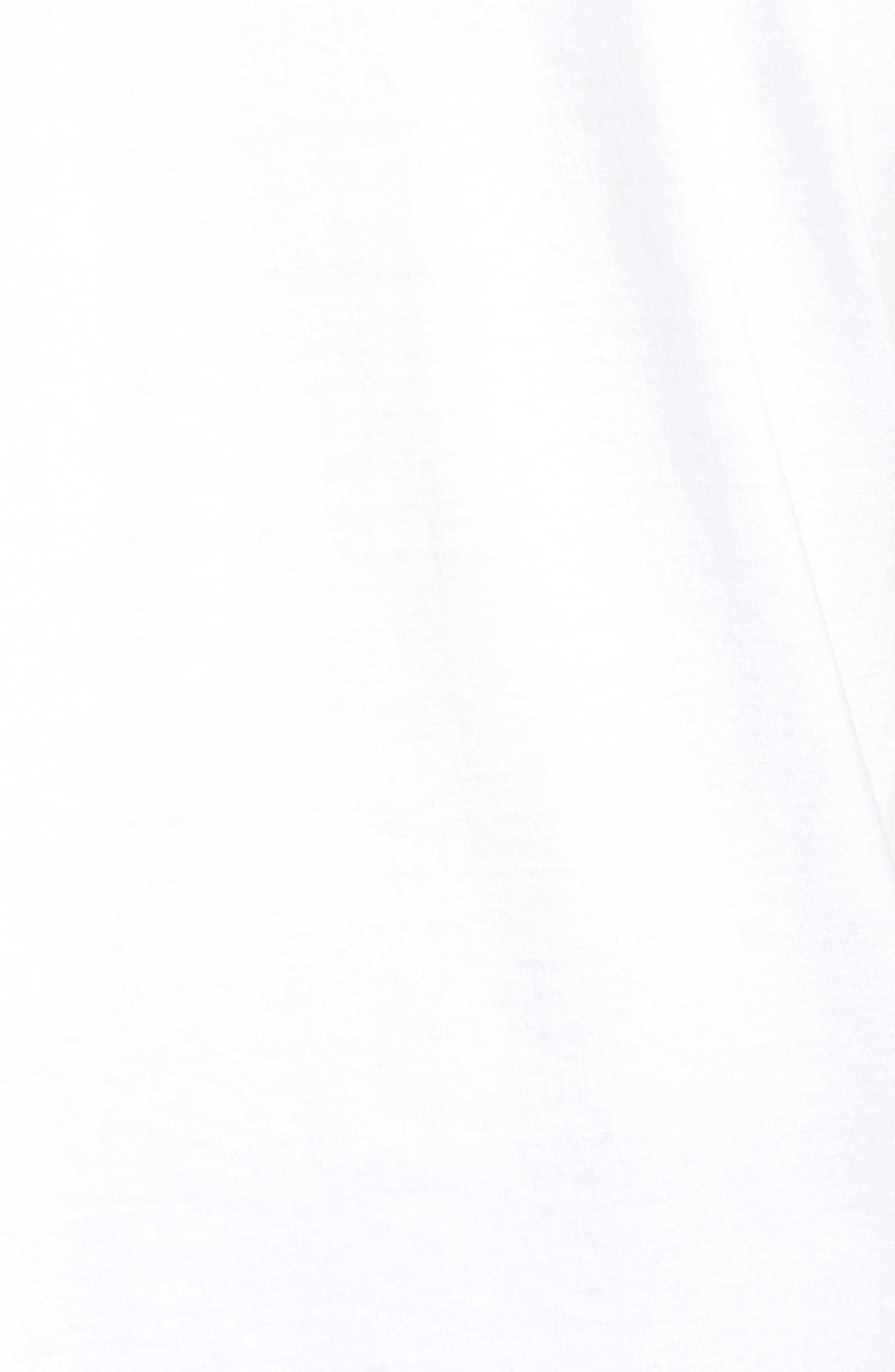 Burch Foam Graphic T-Shirt,                             Alternate thumbnail 5, color,                             White