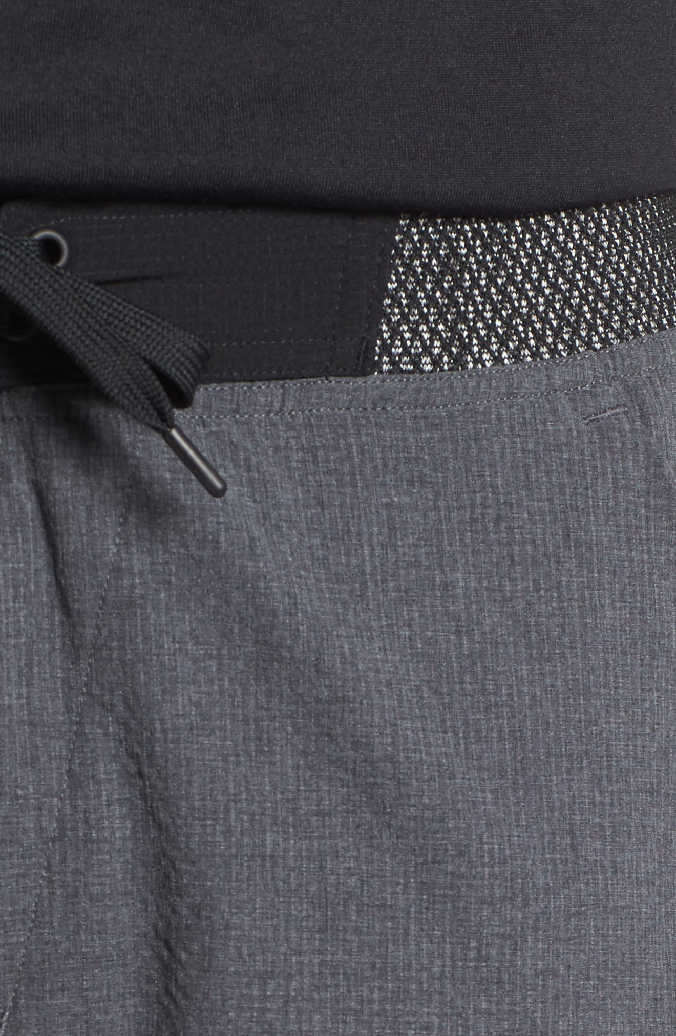 Epic Knit Shorts,                             Alternate thumbnail 4, color,                             Dark Grey Heather