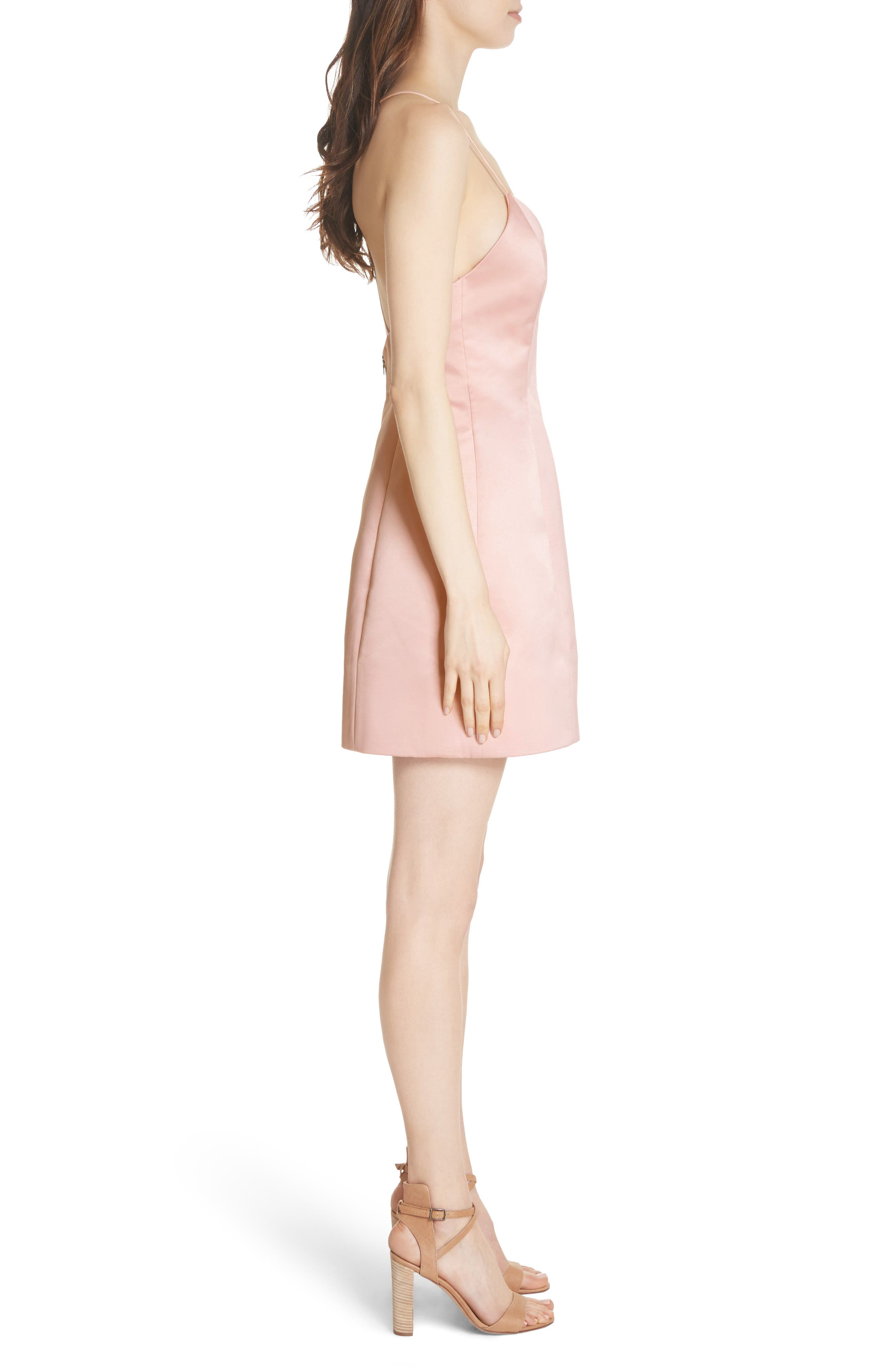 Pearl Minidress,                             Alternate thumbnail 3, color,                             Blush