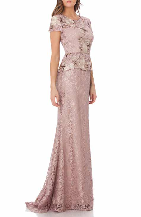 JS Collections Lace Gown f7c201e583ca