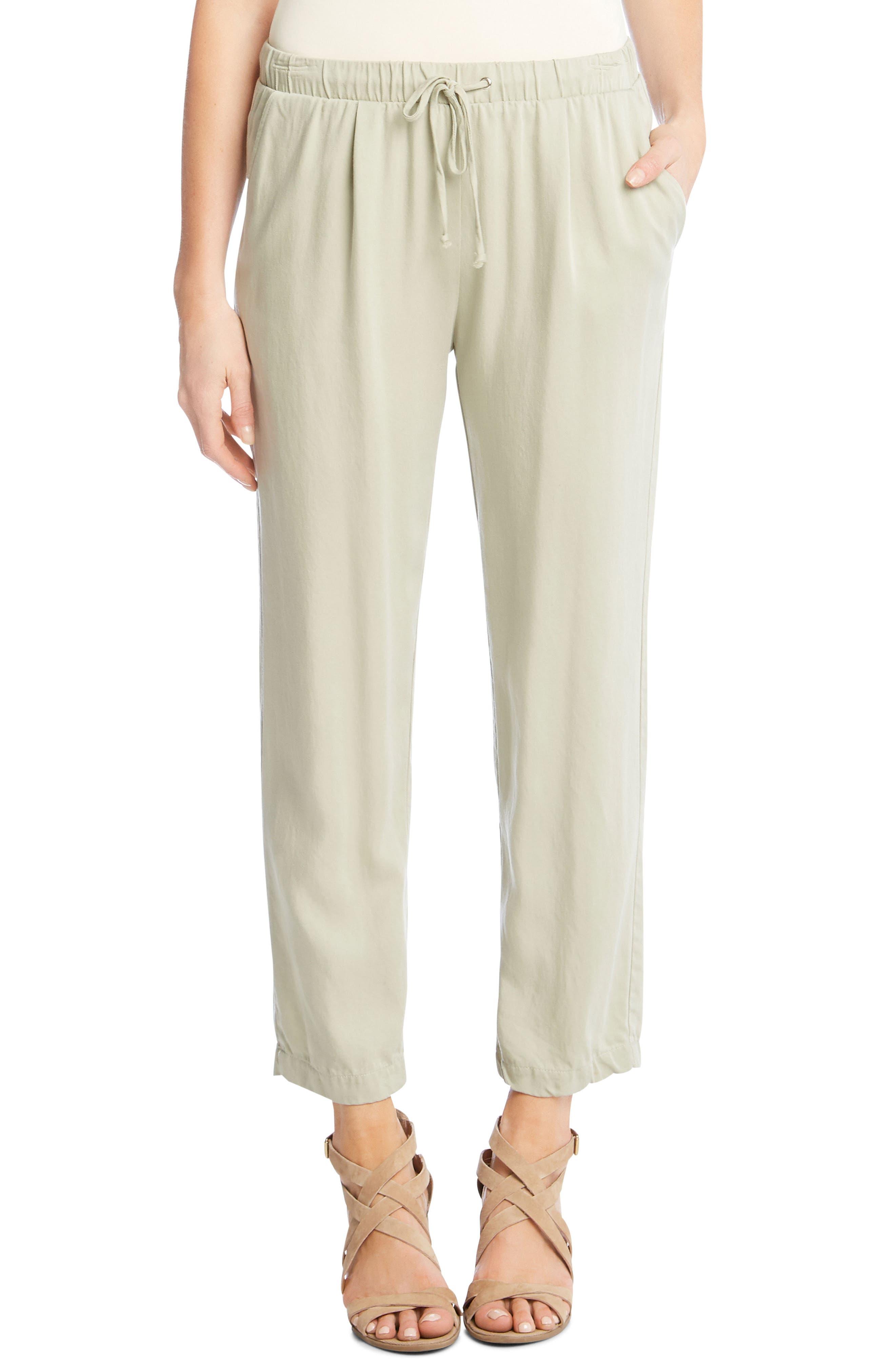 Drawstring Pants,                         Main,                         color, Olive
