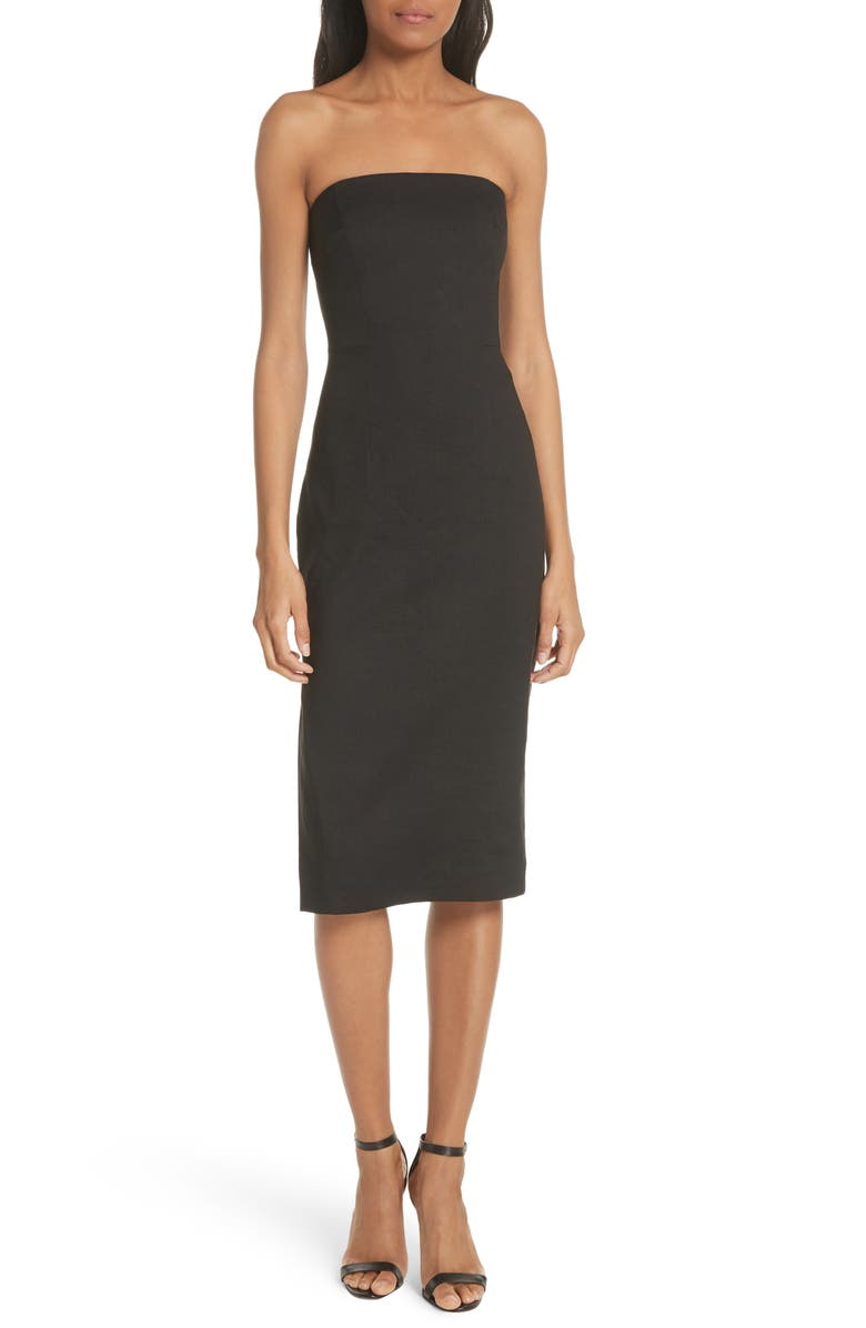 Eva Strapless Sheath Dress