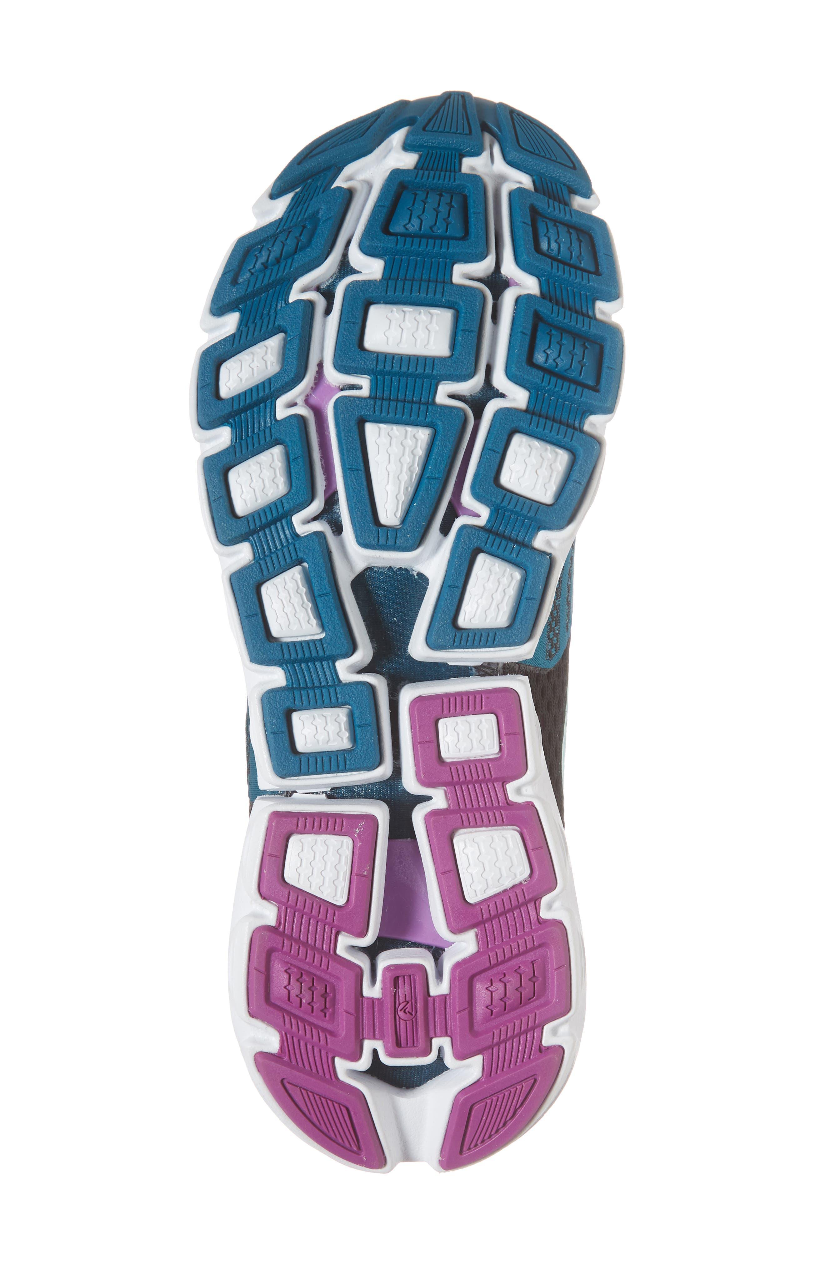 Neuro 3 Running Shoe,                             Alternate thumbnail 6, color,                             Lagoon/ Black/ Purple