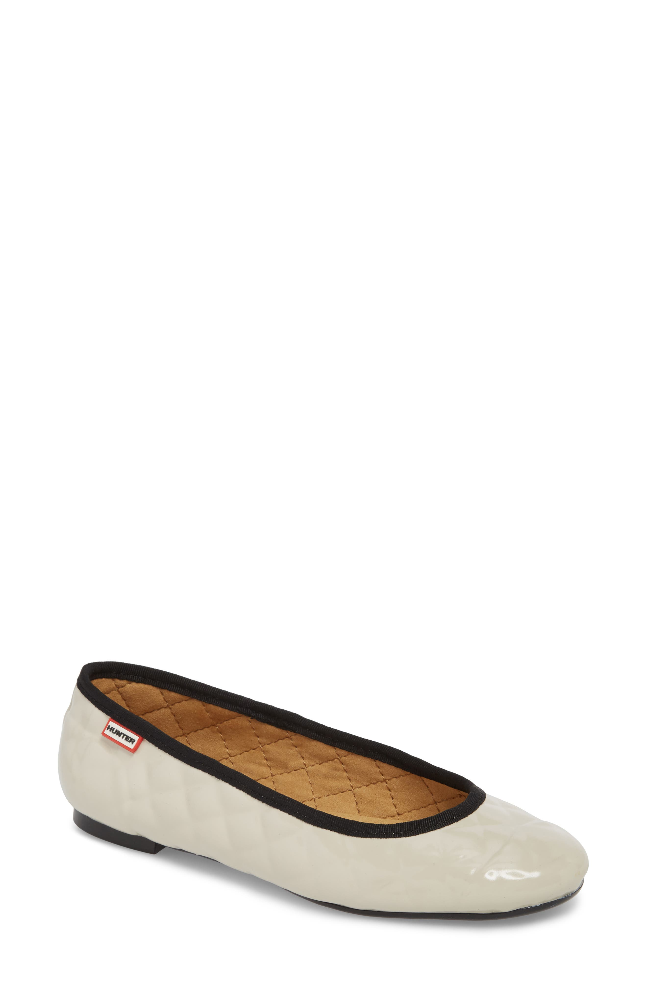 QUILTED BALLET FLAT
