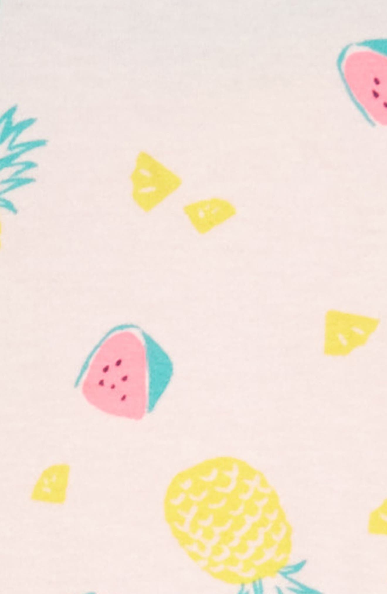 Racerback Tank Dress,                             Alternate thumbnail 3, color,                             Pink Breath Fruits