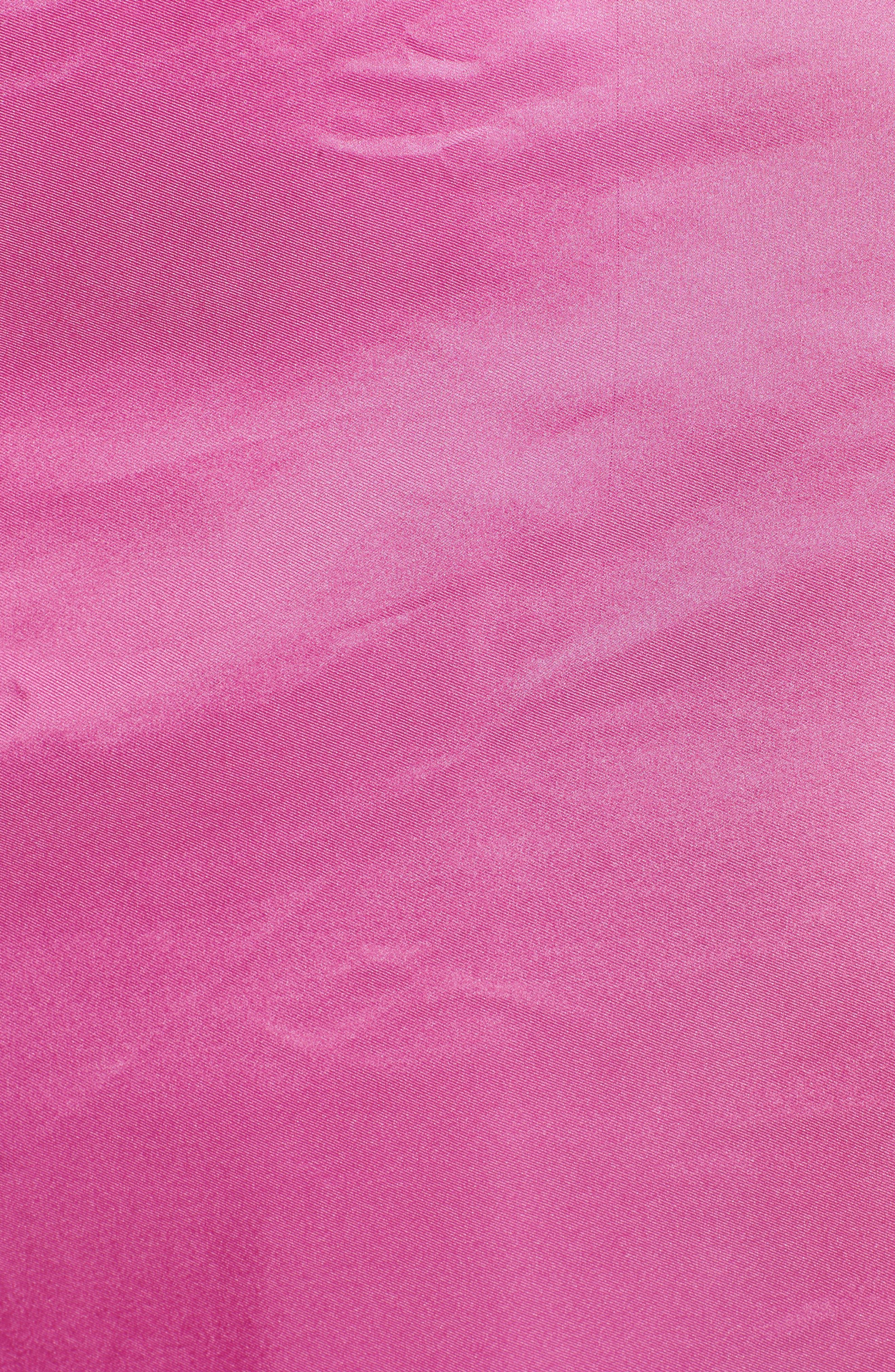 Everyday Silk Wrap,                             Alternate thumbnail 5, color,                             Peony