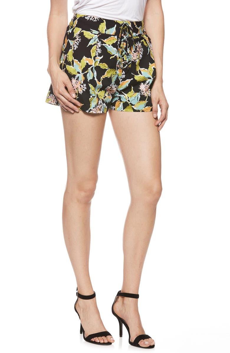Khala Print Cotton Shorts