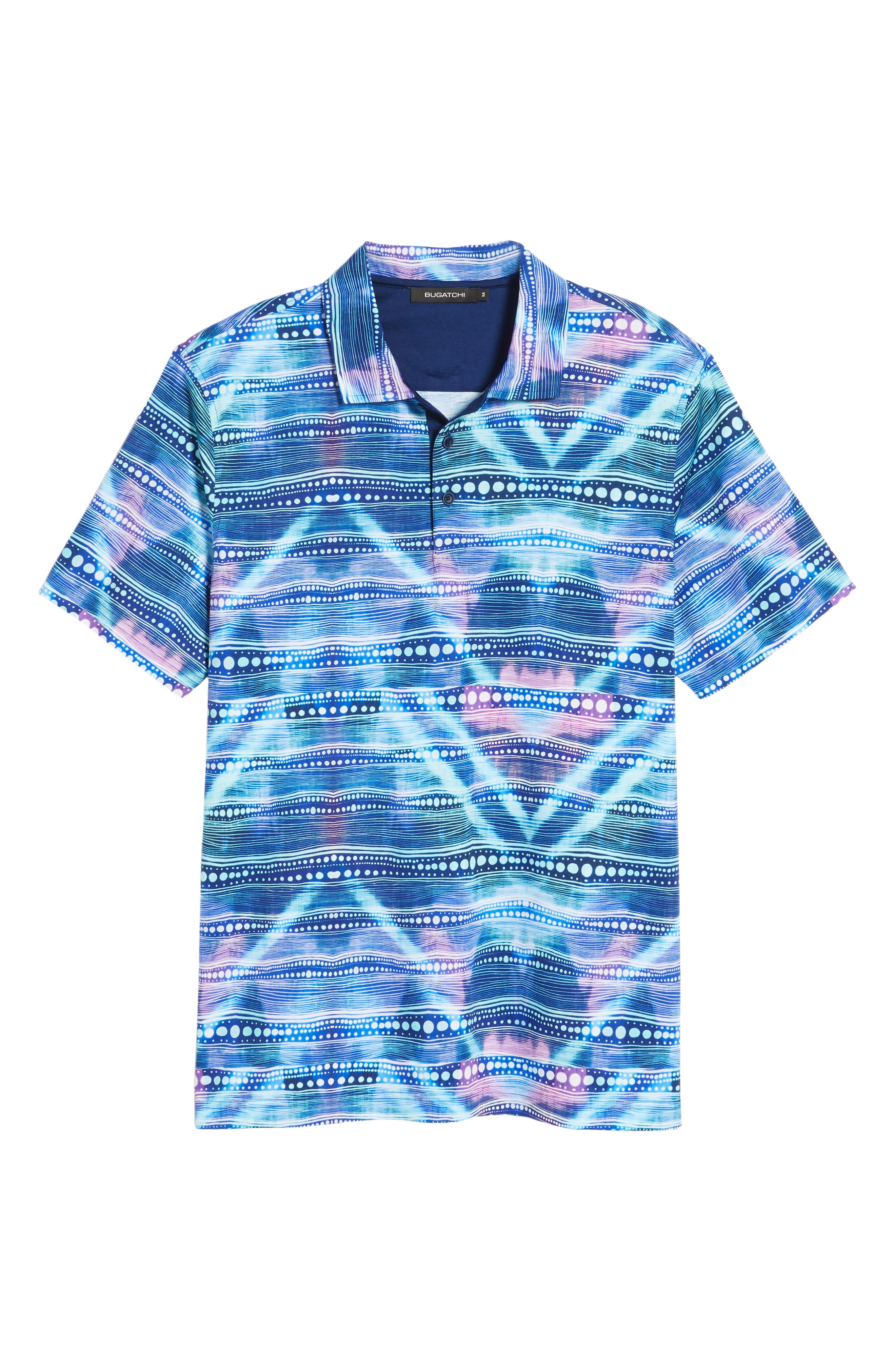 Knit Polo,                             Alternate thumbnail 6, color,                             Turquoise