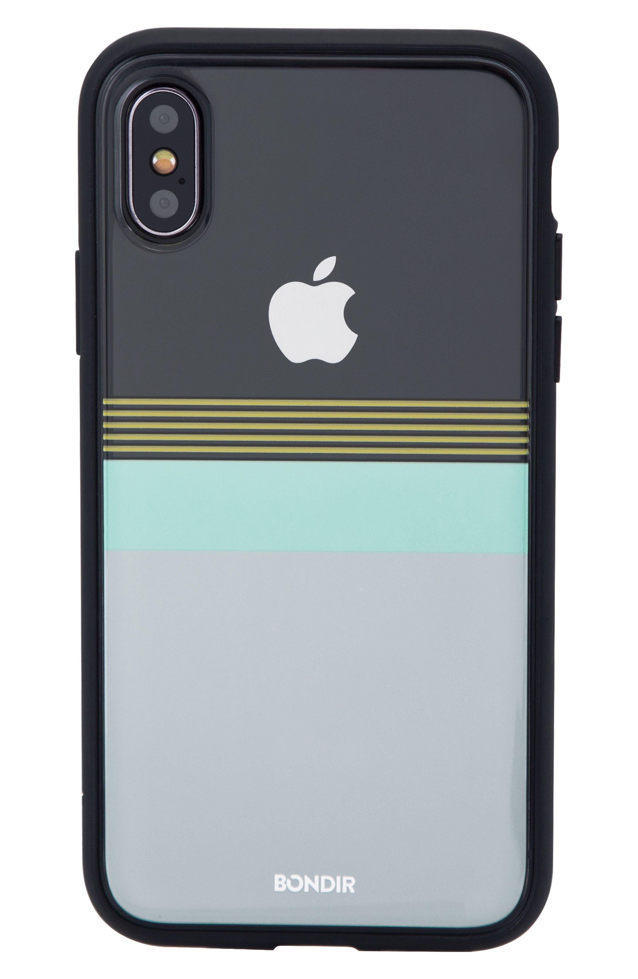 Sailor iPhone X Case,                             Main thumbnail 1, color,                             White