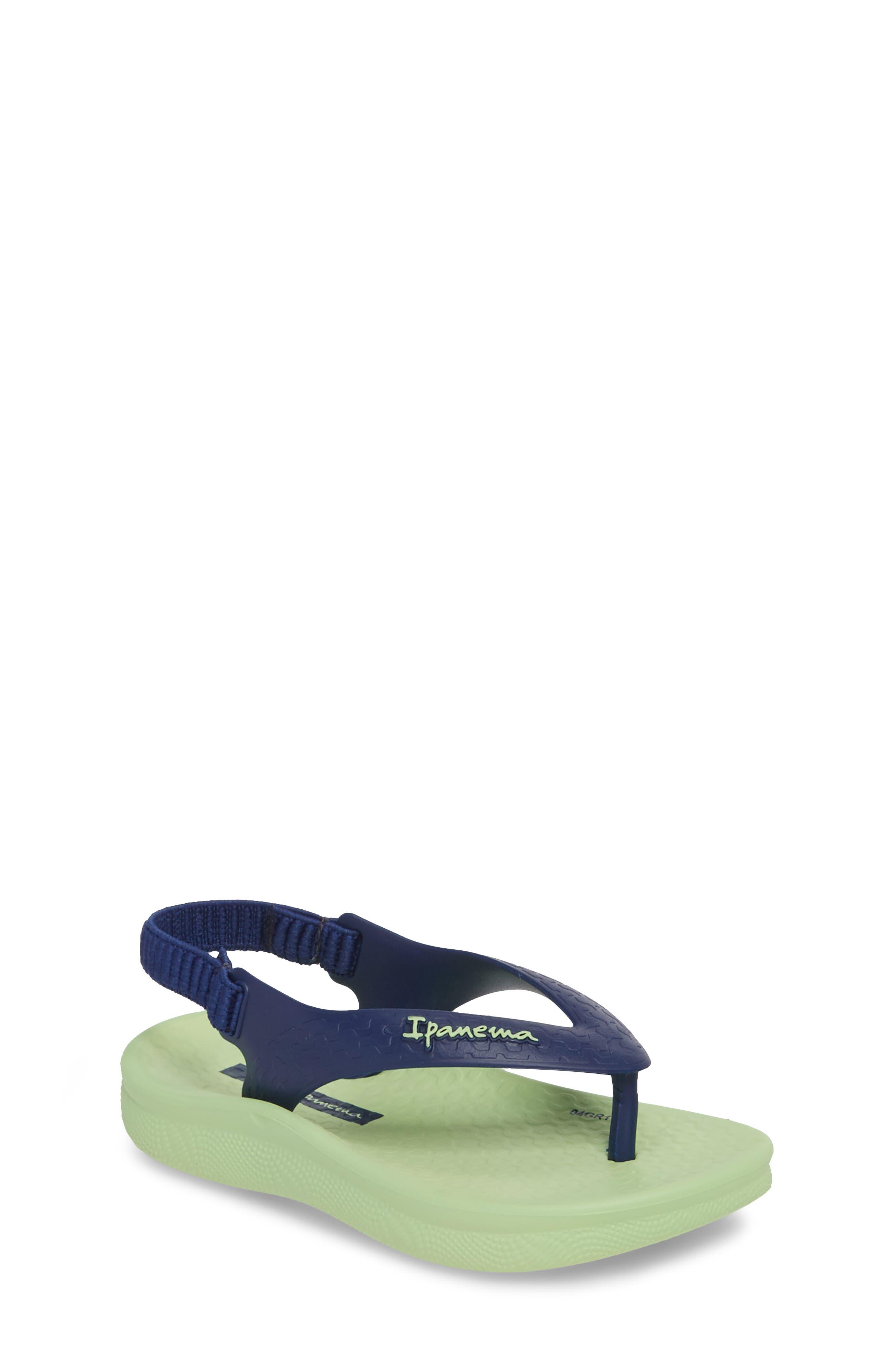 Ipanema Ana Tan Flip Flop (Walker & Toddler)