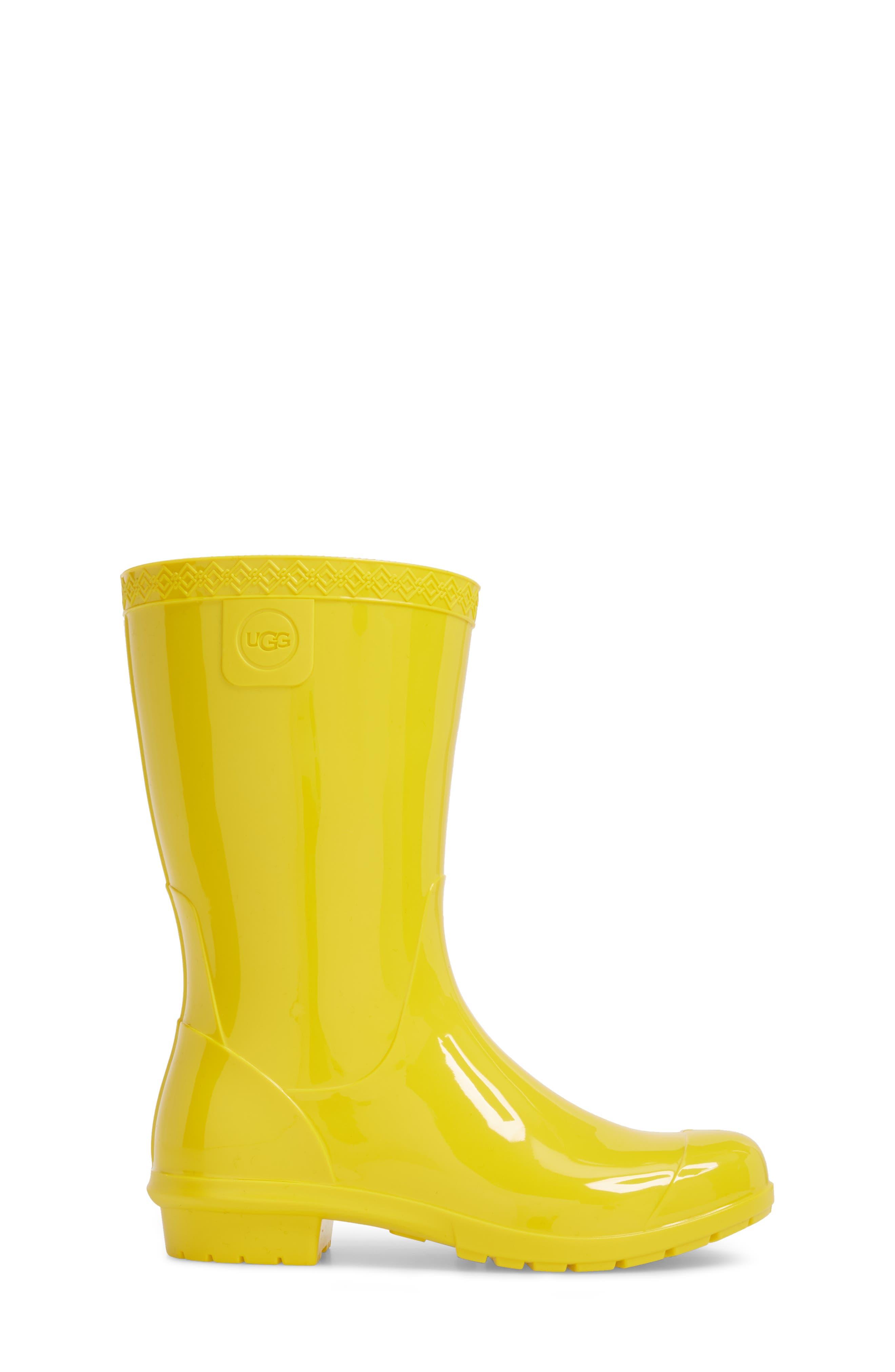 Alternate Image 3  - UGG® Raana Waterproof Rain Boot (Little Kid & Big Kid)