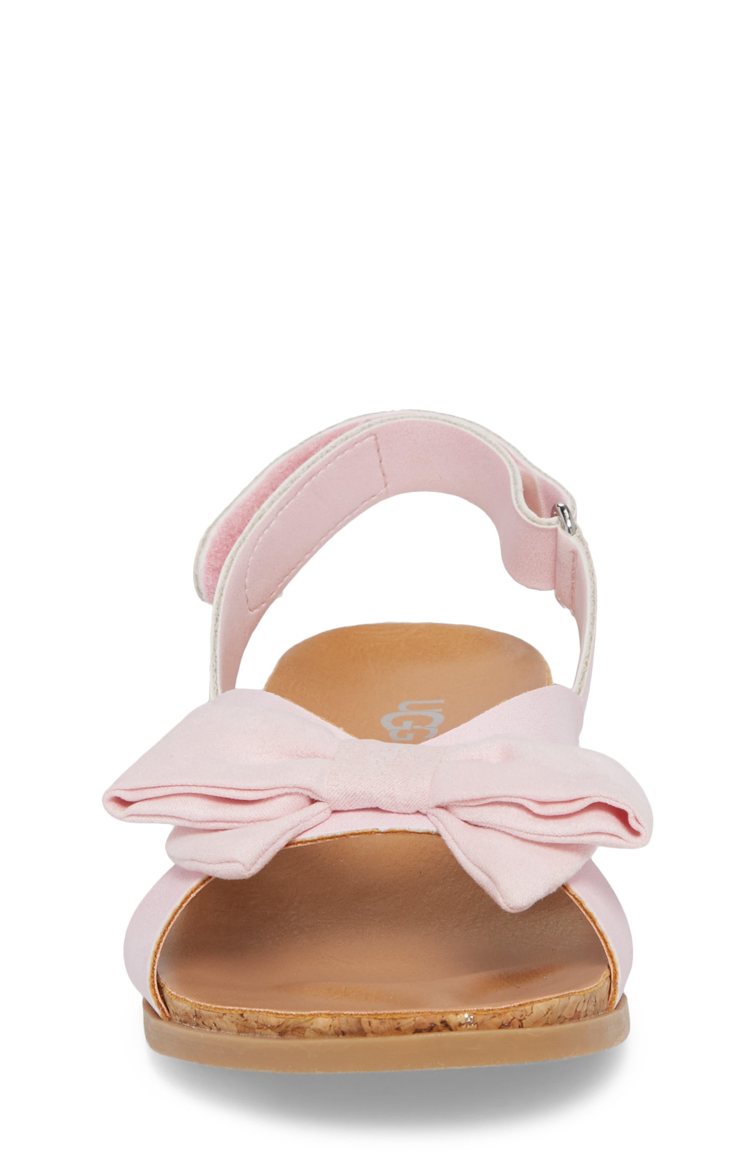 Fonda Sandal,                             Alternate thumbnail 4, color,                             Seashell Pink