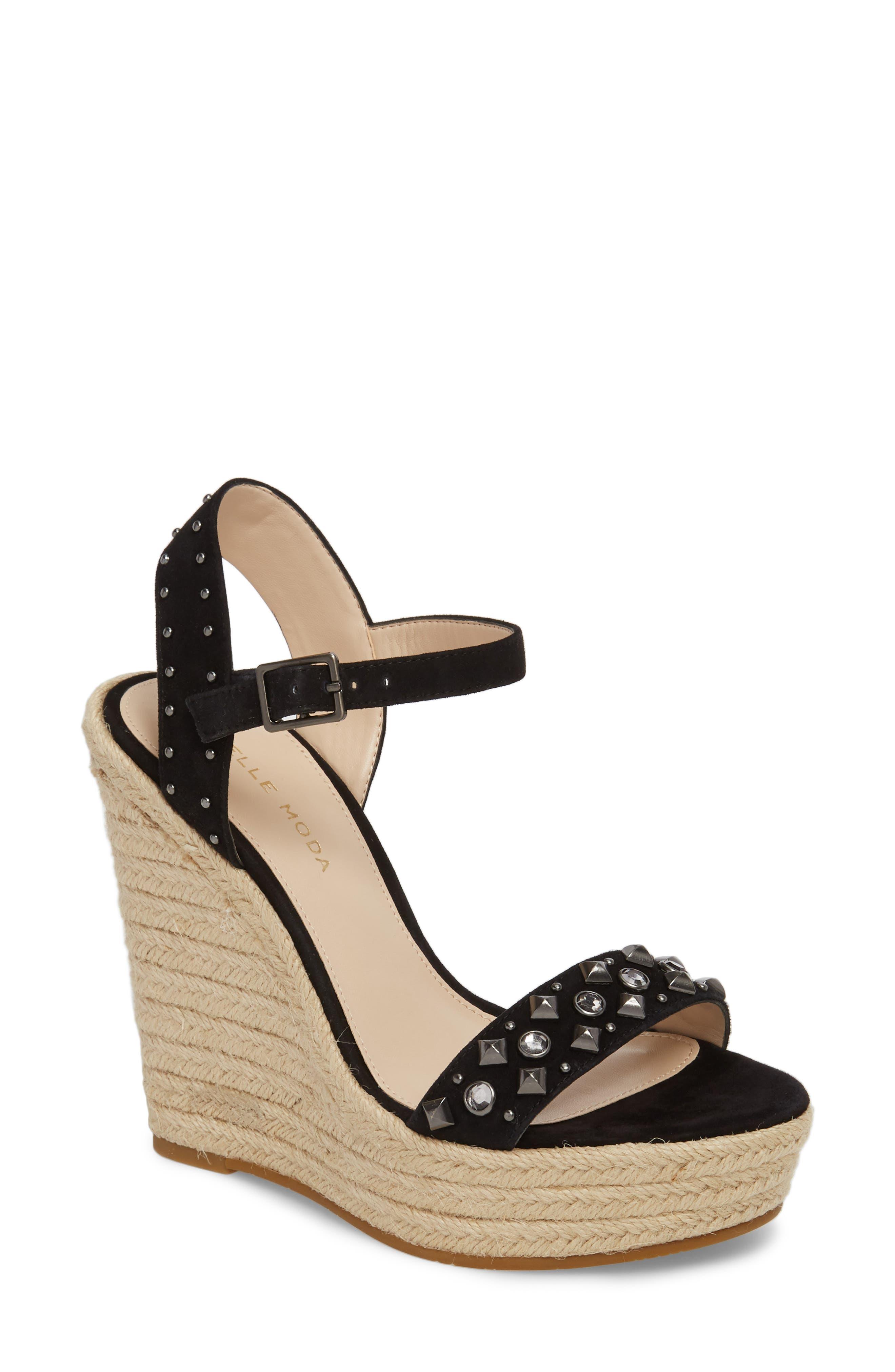 Pelle Moda Oates Espadrille Wedge Sandal (Women)