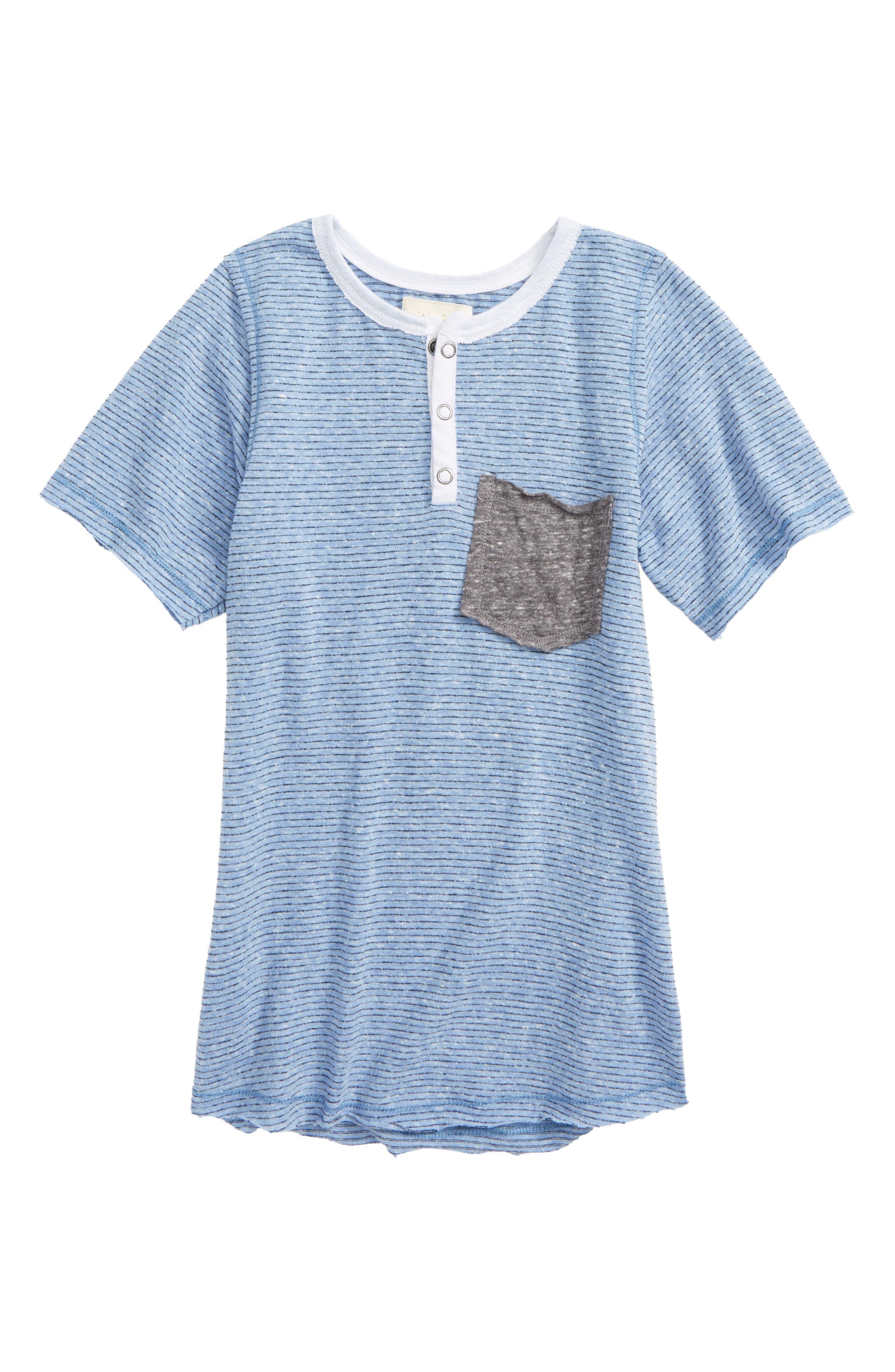 Miki Miette Jax Pocket T-Shirt (Toddler Boys, Little Boys & Big Boys)